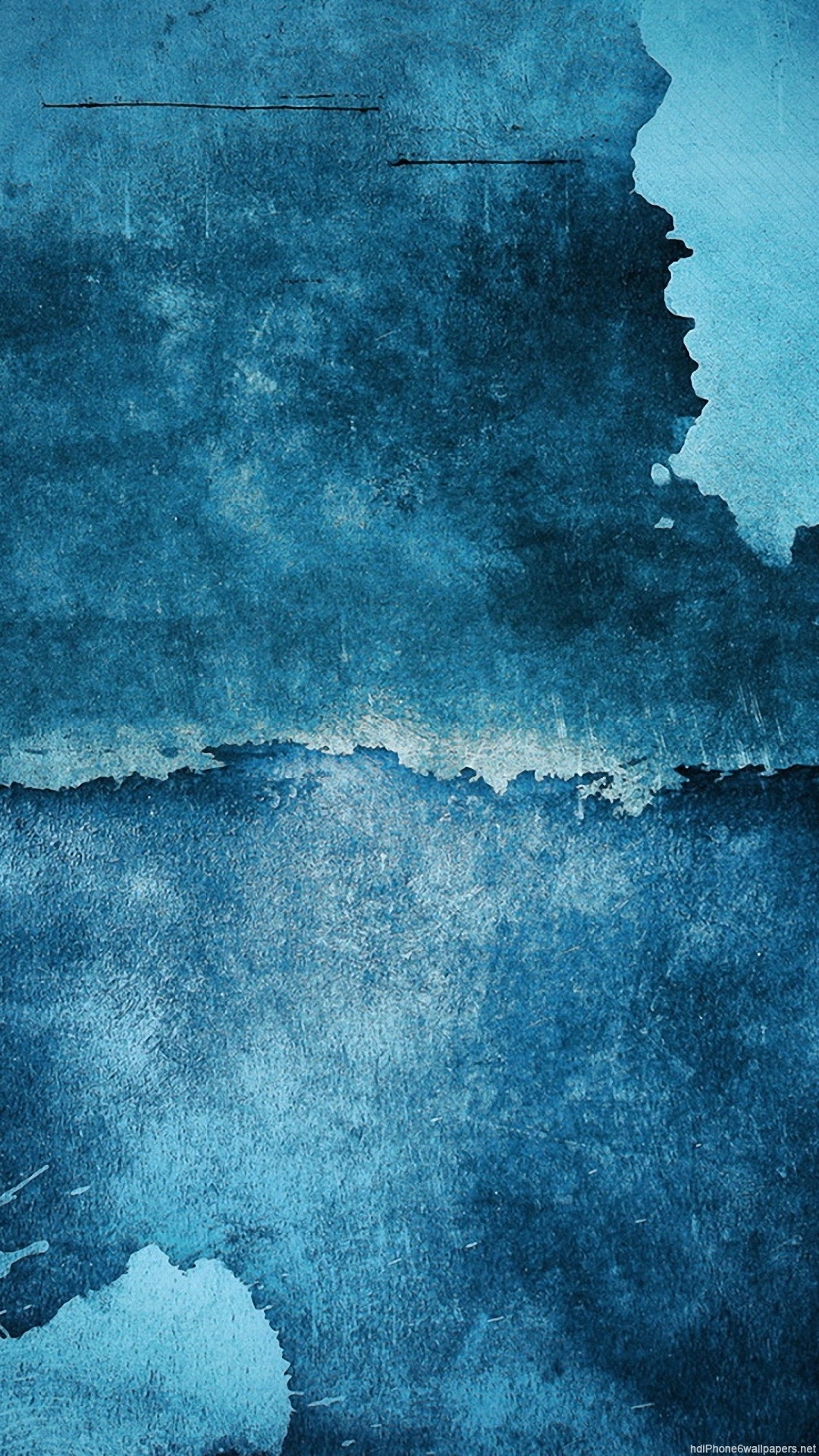 simple blue iPhone 6 wallpapers HD – 6 Plus backgrounds