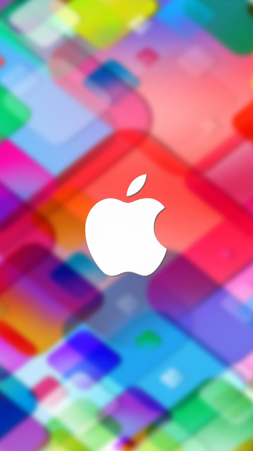 Apple Colourful Wallpapers Designed For iPhone