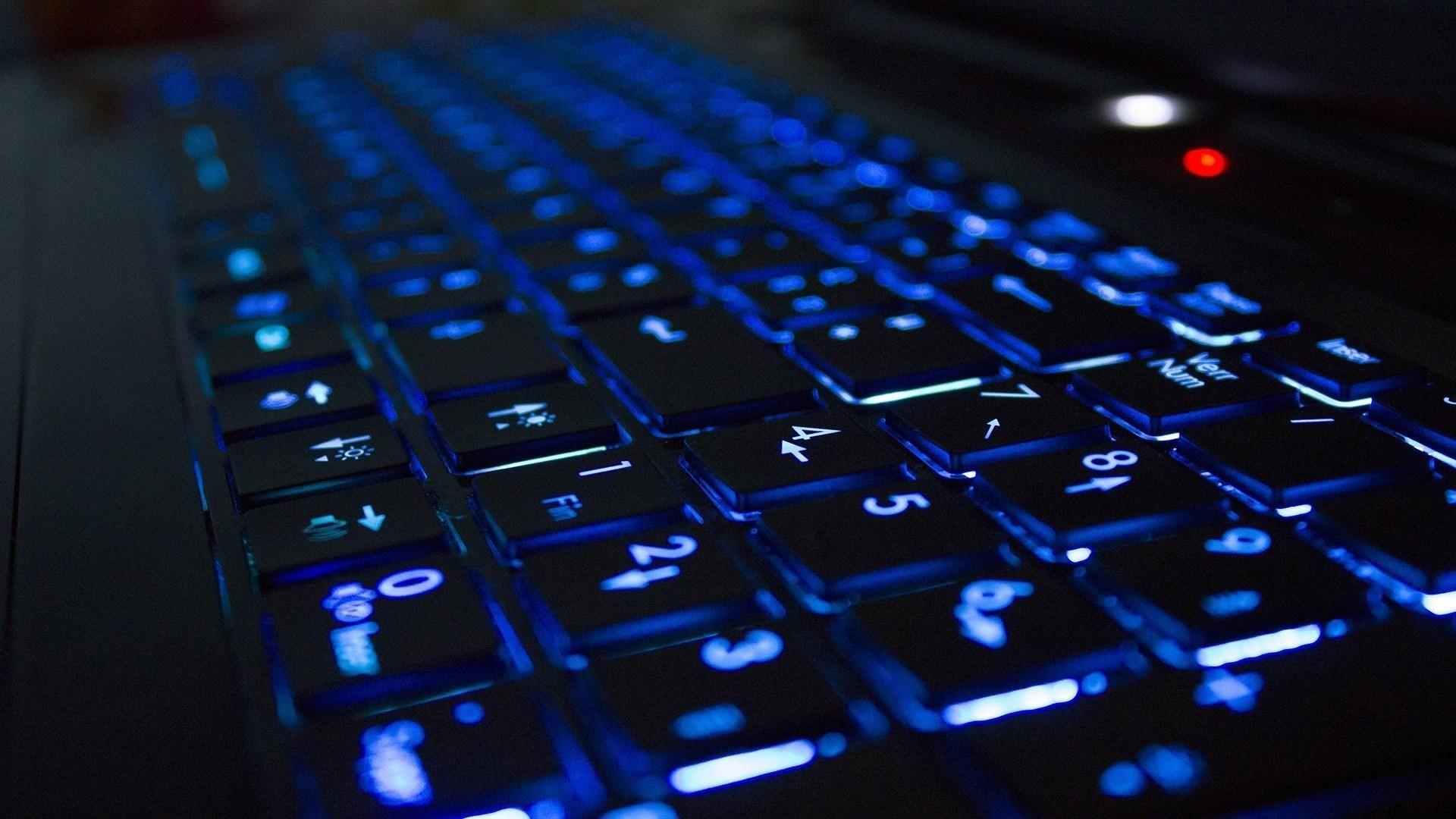 Hi Tech Keyboard Hd Wallpaper Freehdwalls