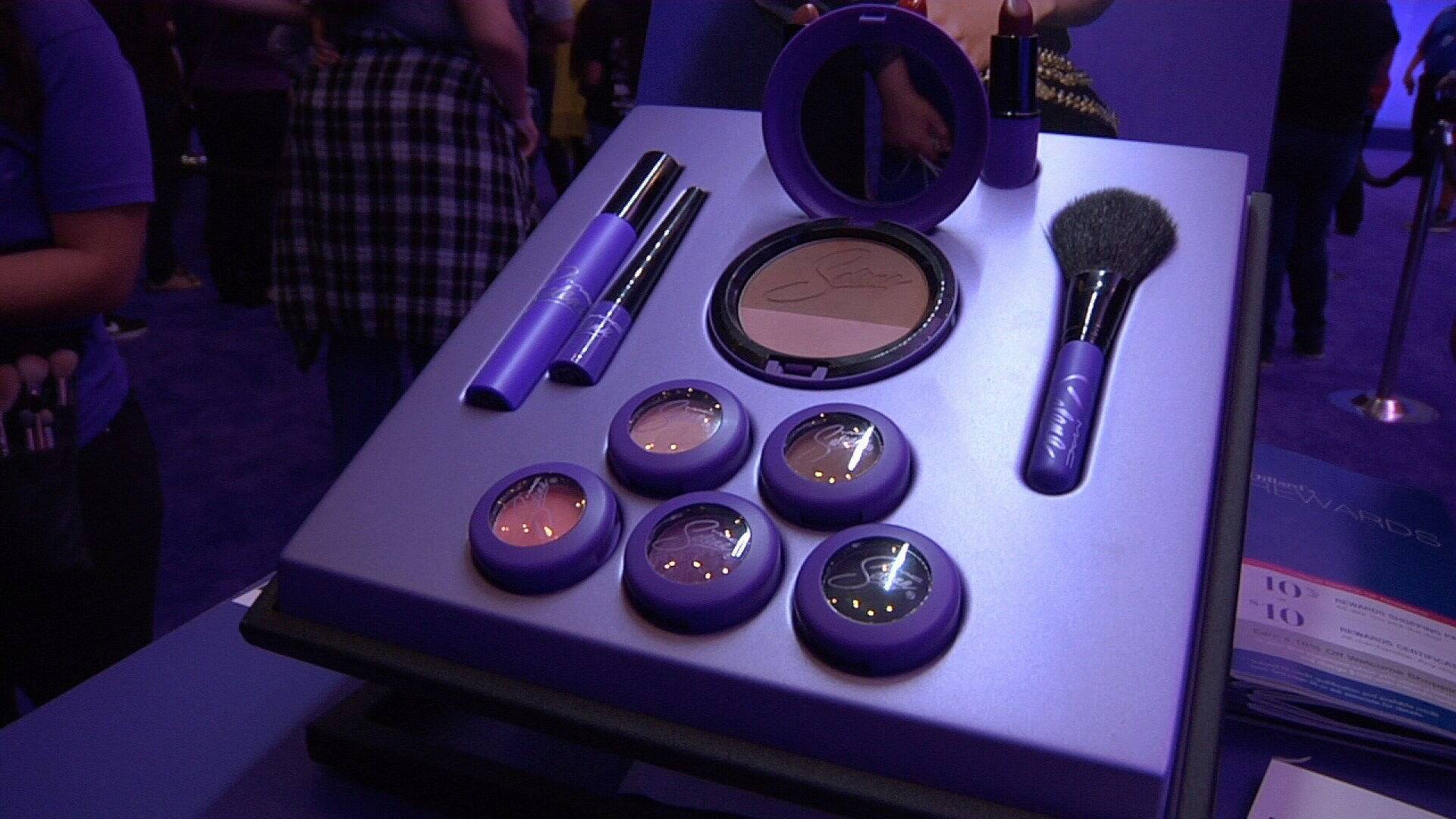 MAC Cosmetics unveiled its new makeup line inspired by late Tejano star  Selena Quintanilla-Perez