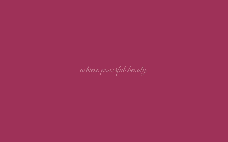 Powerful Beauty Wallpaper in Pantone Sangria