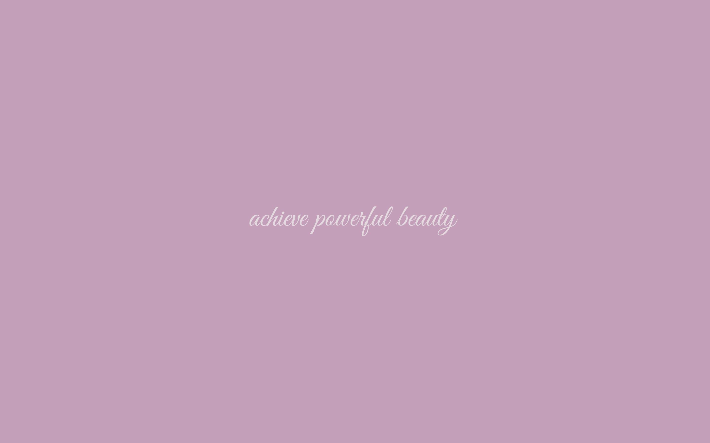 Powerful Beauty Wallpaper in Pantone Mauve Mist