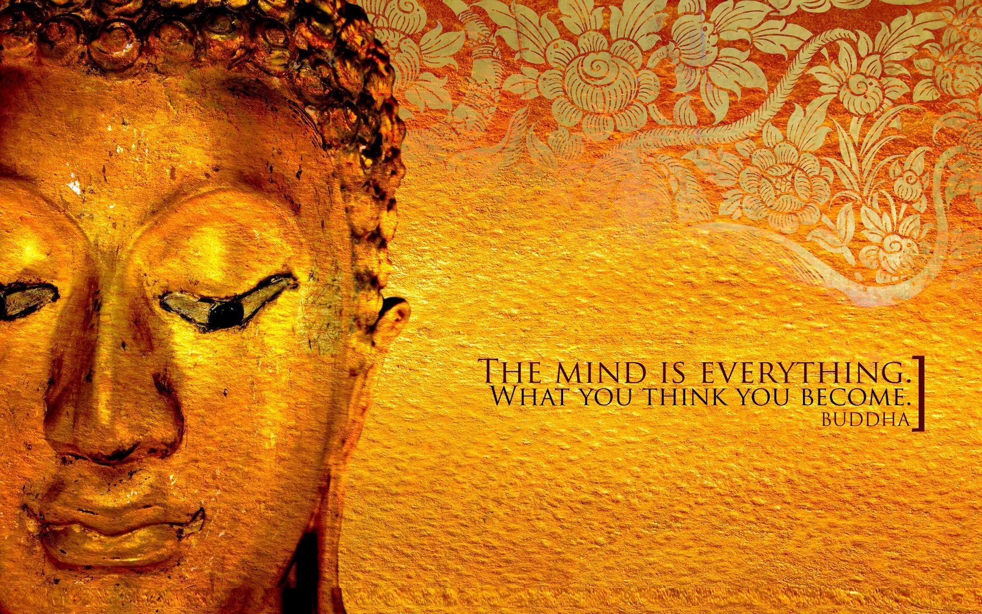 Wallpapers For > Lord Buddha Wallpapers With Quotes