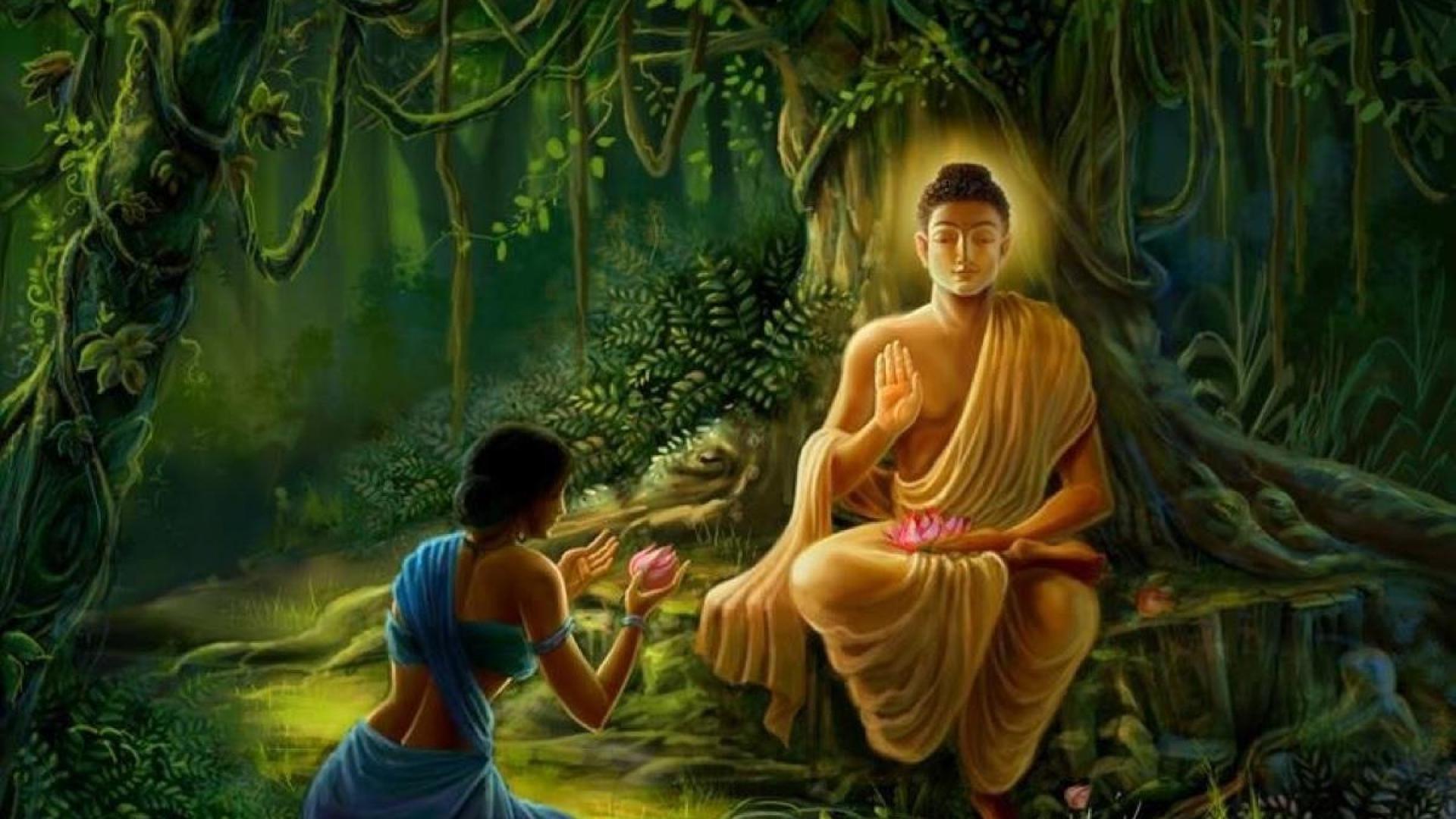 Wallpapers For > Buddhist Wallpaper Art