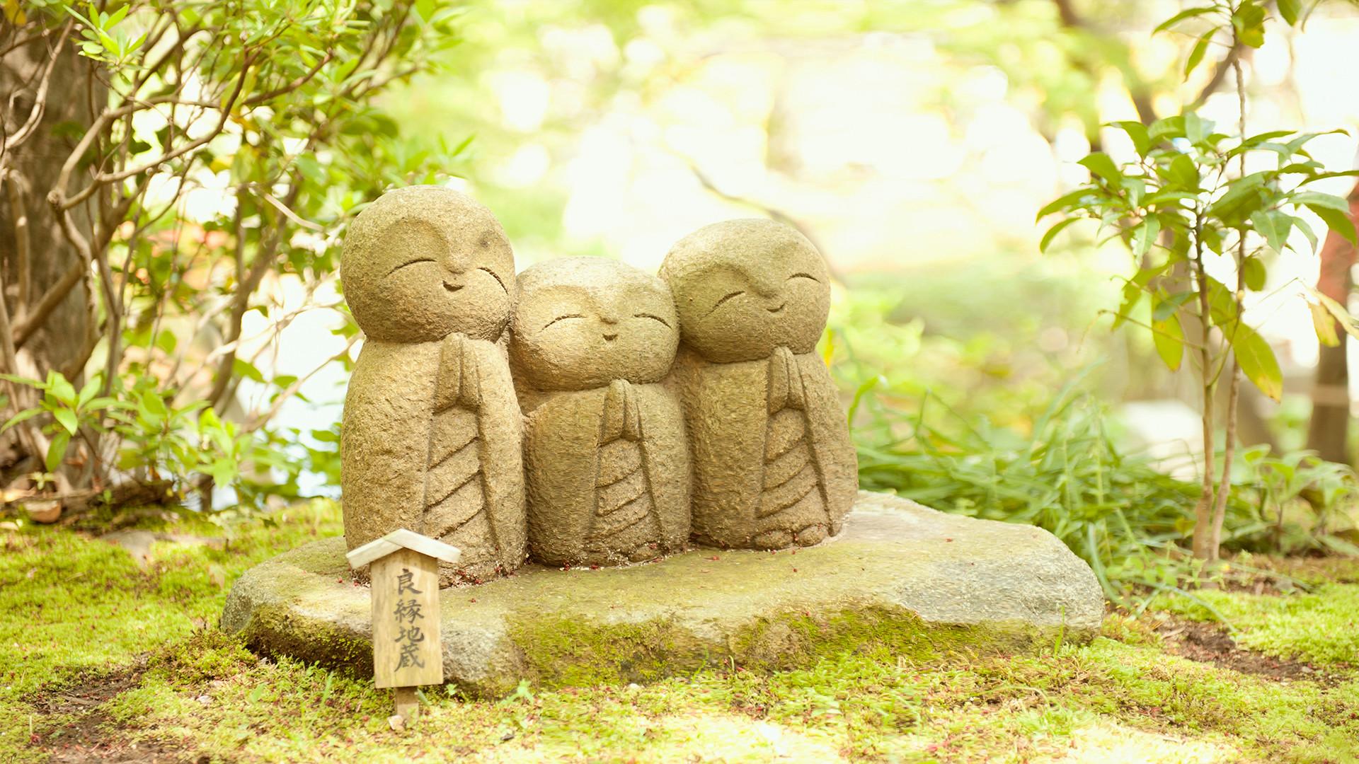 Zen Garden Iphone Wallpaper Buddha statue …