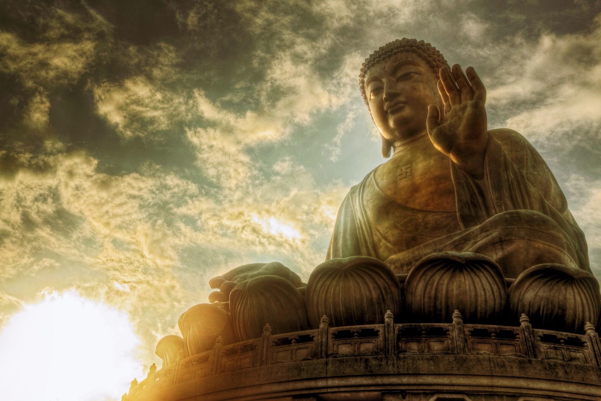 Beautiful Buddha HD Wallpaper, Tian Tan Buddha, Lantau Island