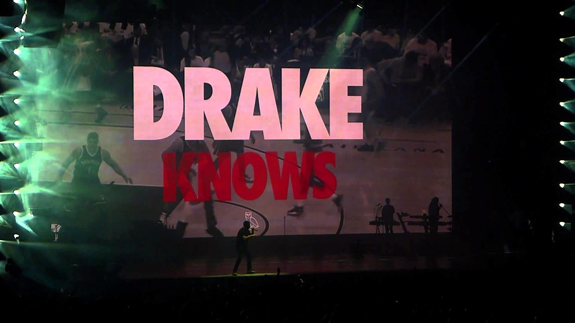 Drake – All Me – Live Concert Toronto OVO Fest 2014
