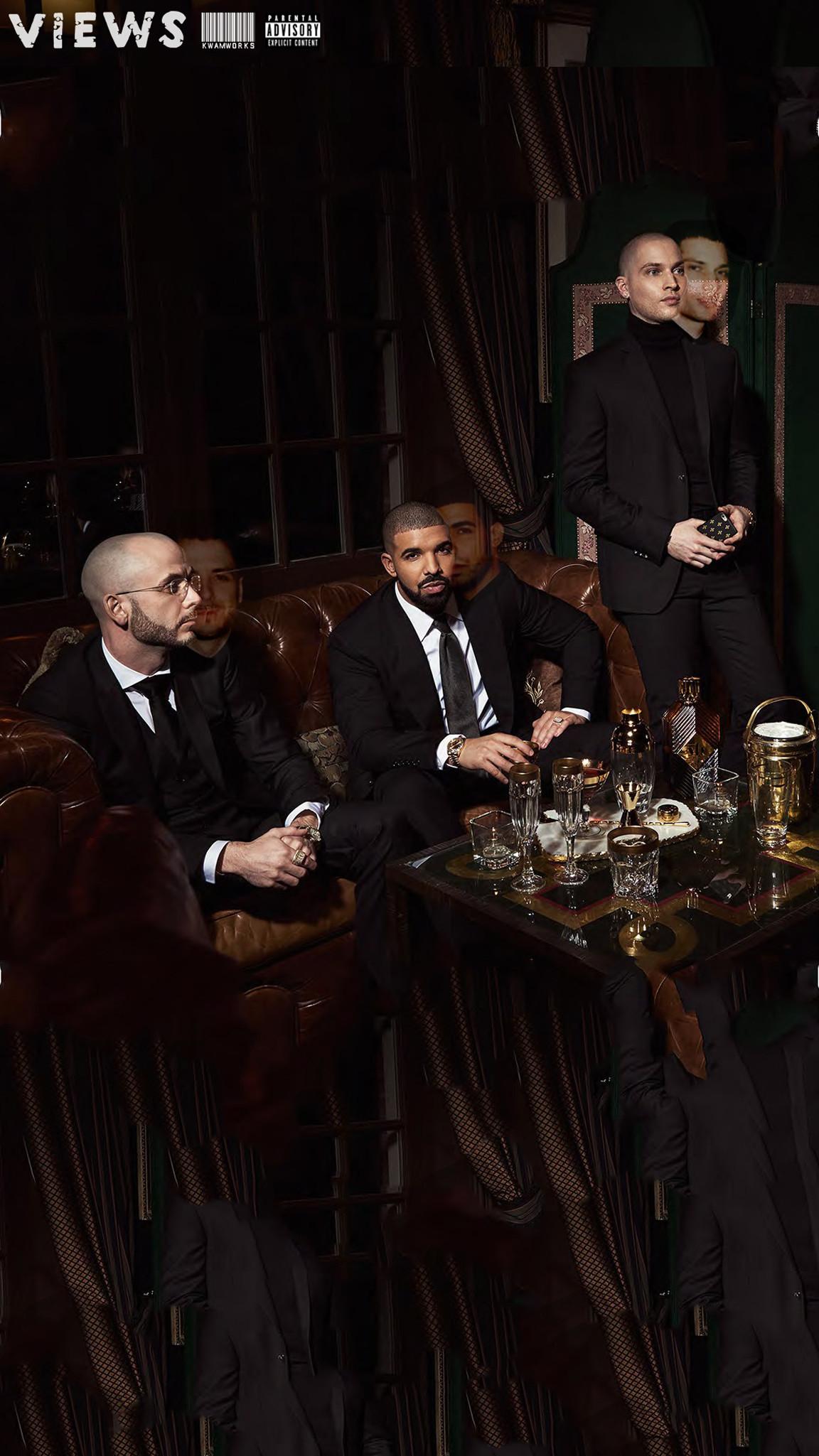 Drake – Views iPhone Wallpaper by kwamworks