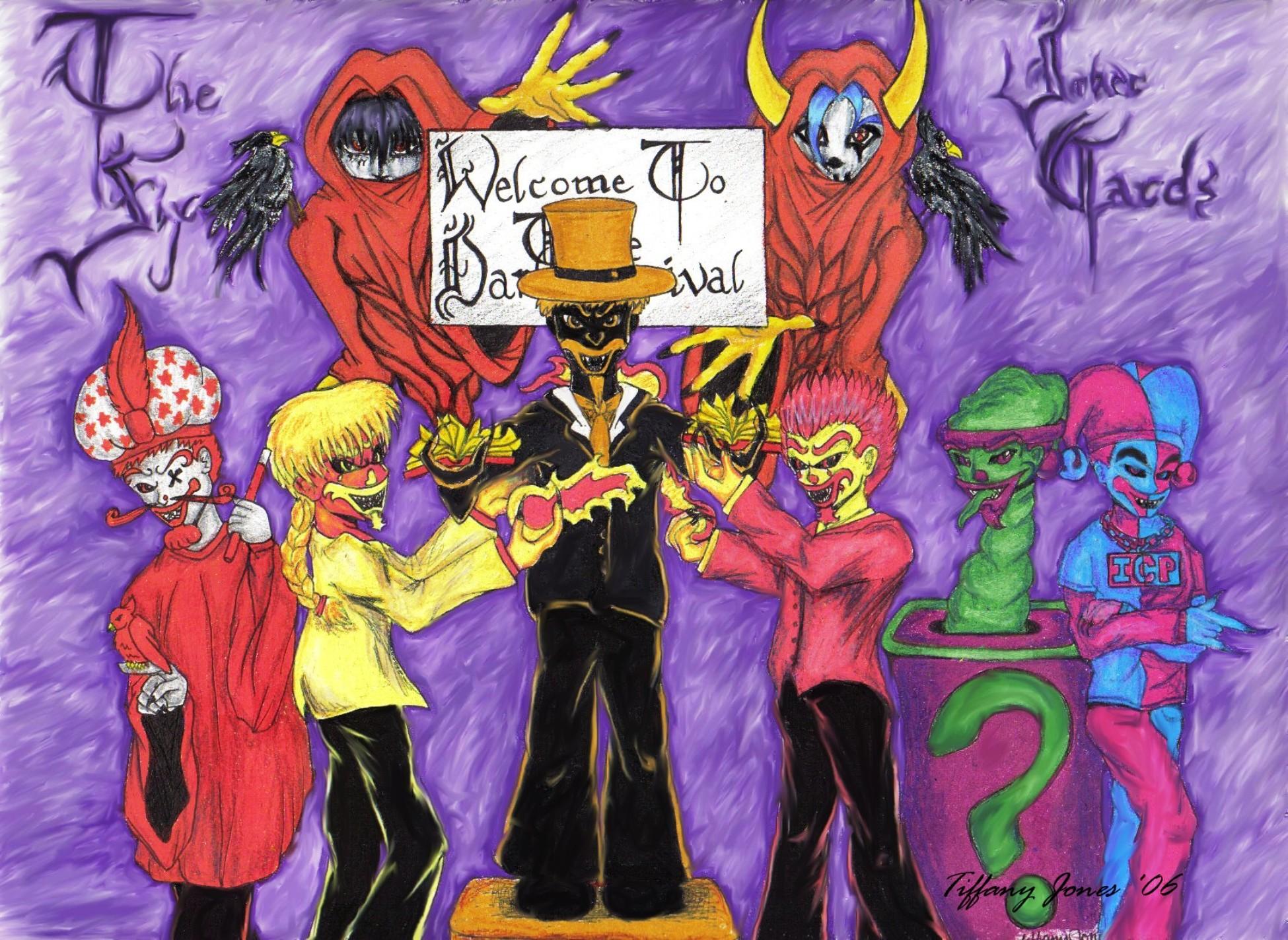 Icp Joker Card Wallpaper