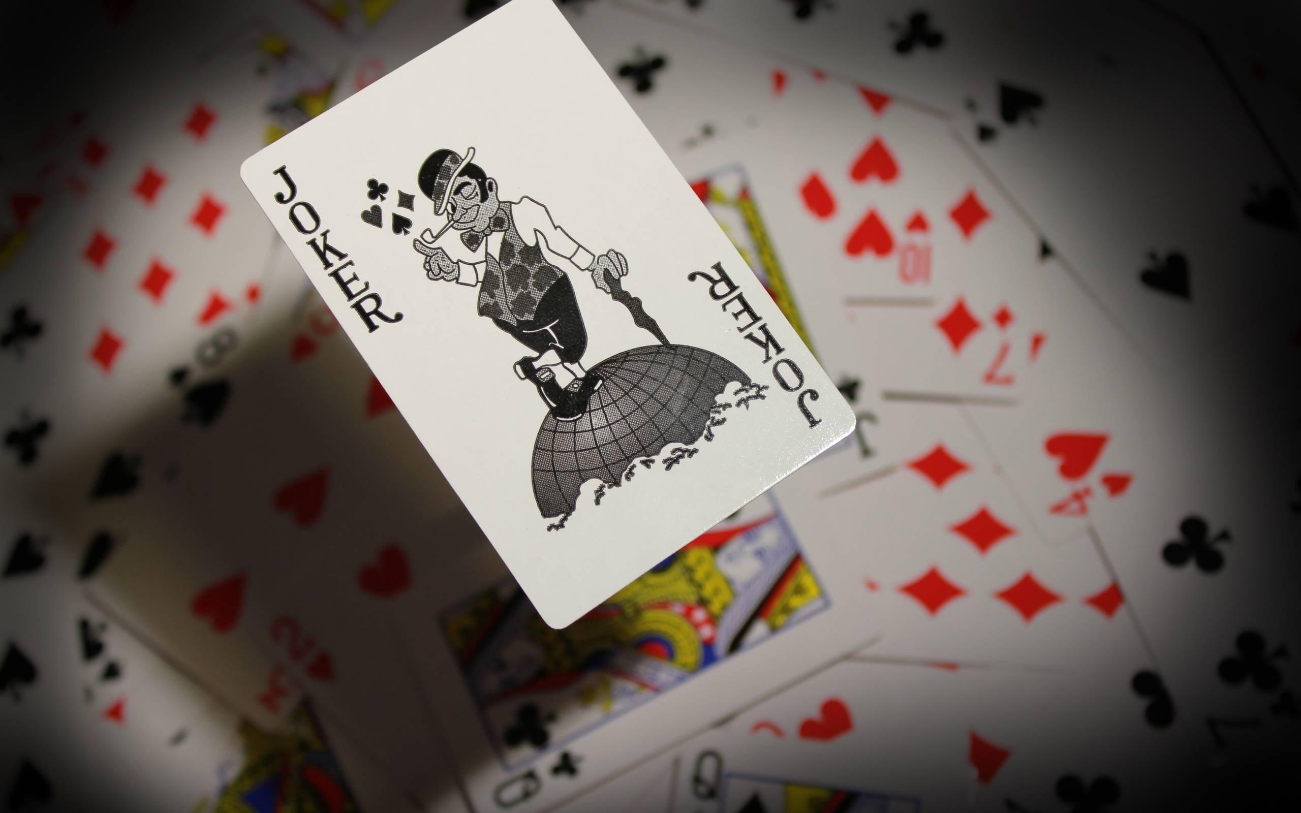 joker cards wallpaper …