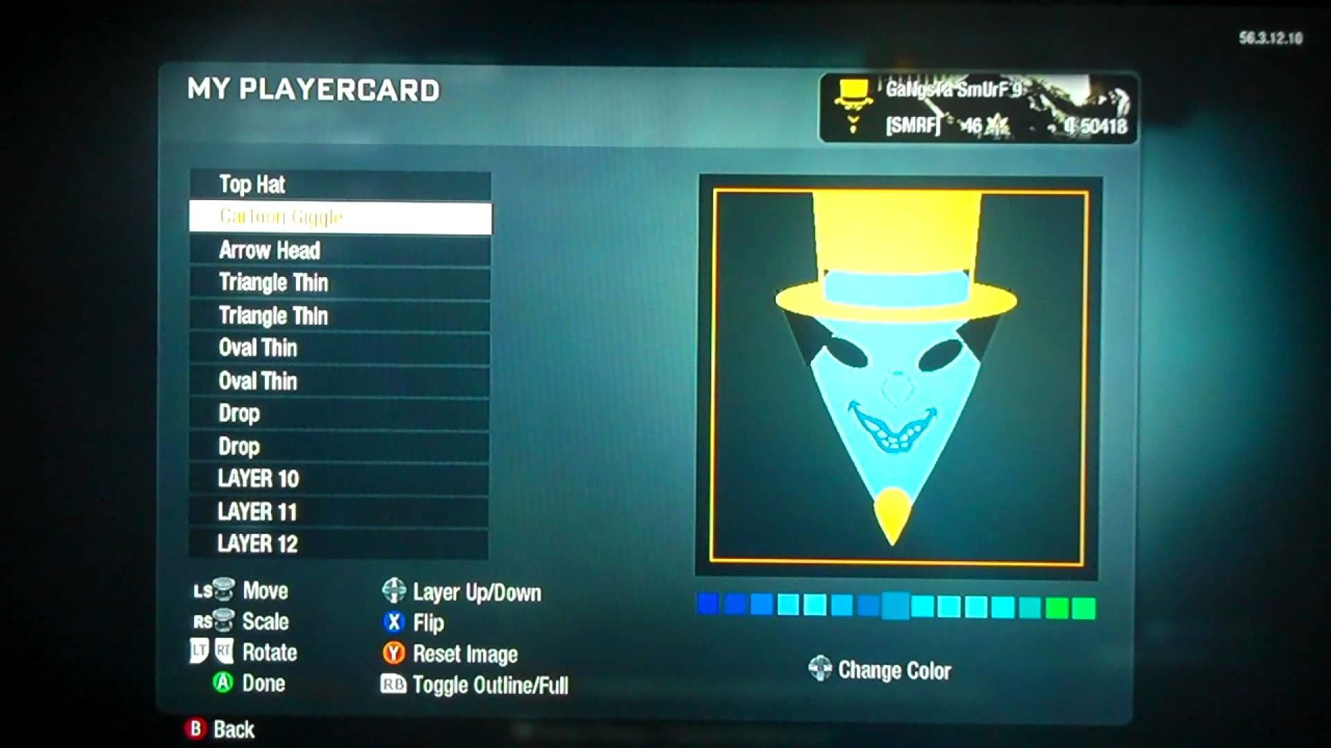 "CoD black ops icp emblem ""Ringmaster"""