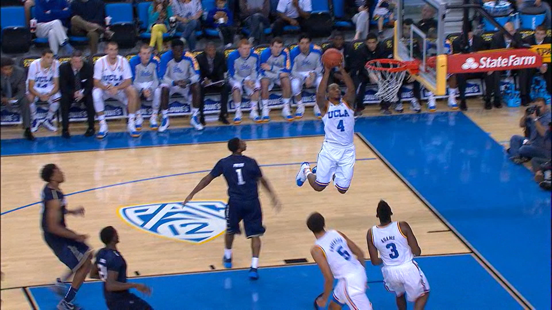 Video recap: UCLA men's basketball shows off in win over Chattanooga |  Pac-12