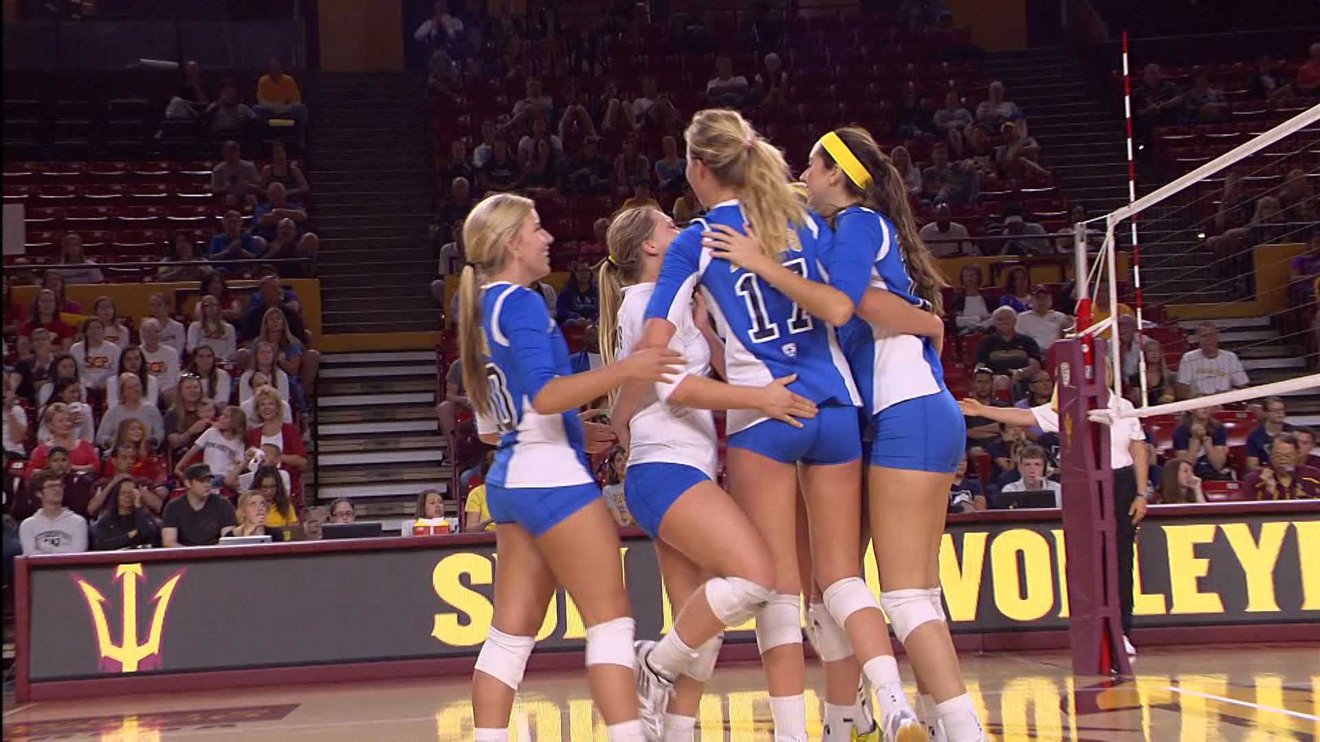 Video recap: UCLA volleyball bounces back with a sweep over ASU | Pac-12