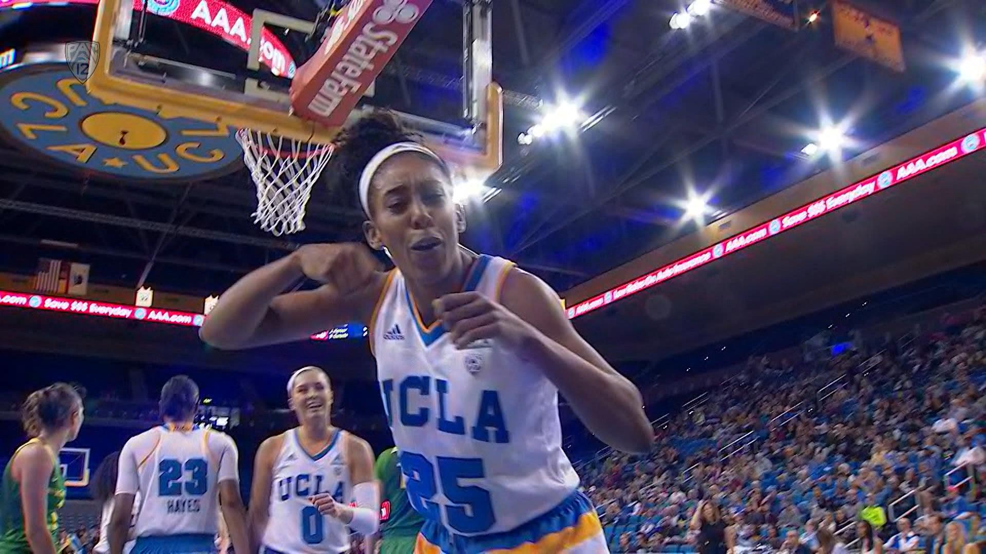 Monique Billings scores career-high in UCLA women's basketball win over  Oregon