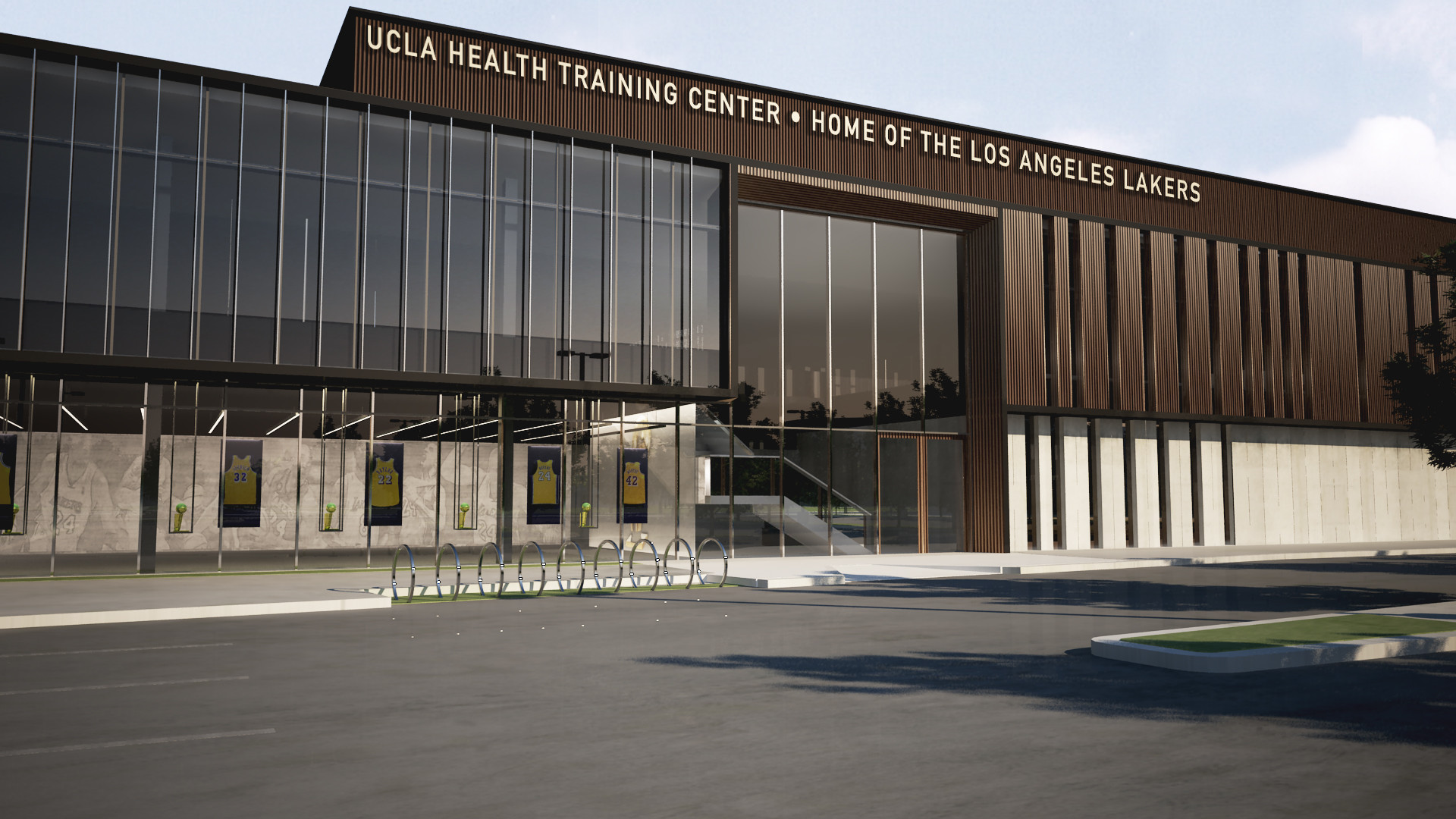 Lakers and UCLA health announce partnership and naming rights for new  training center