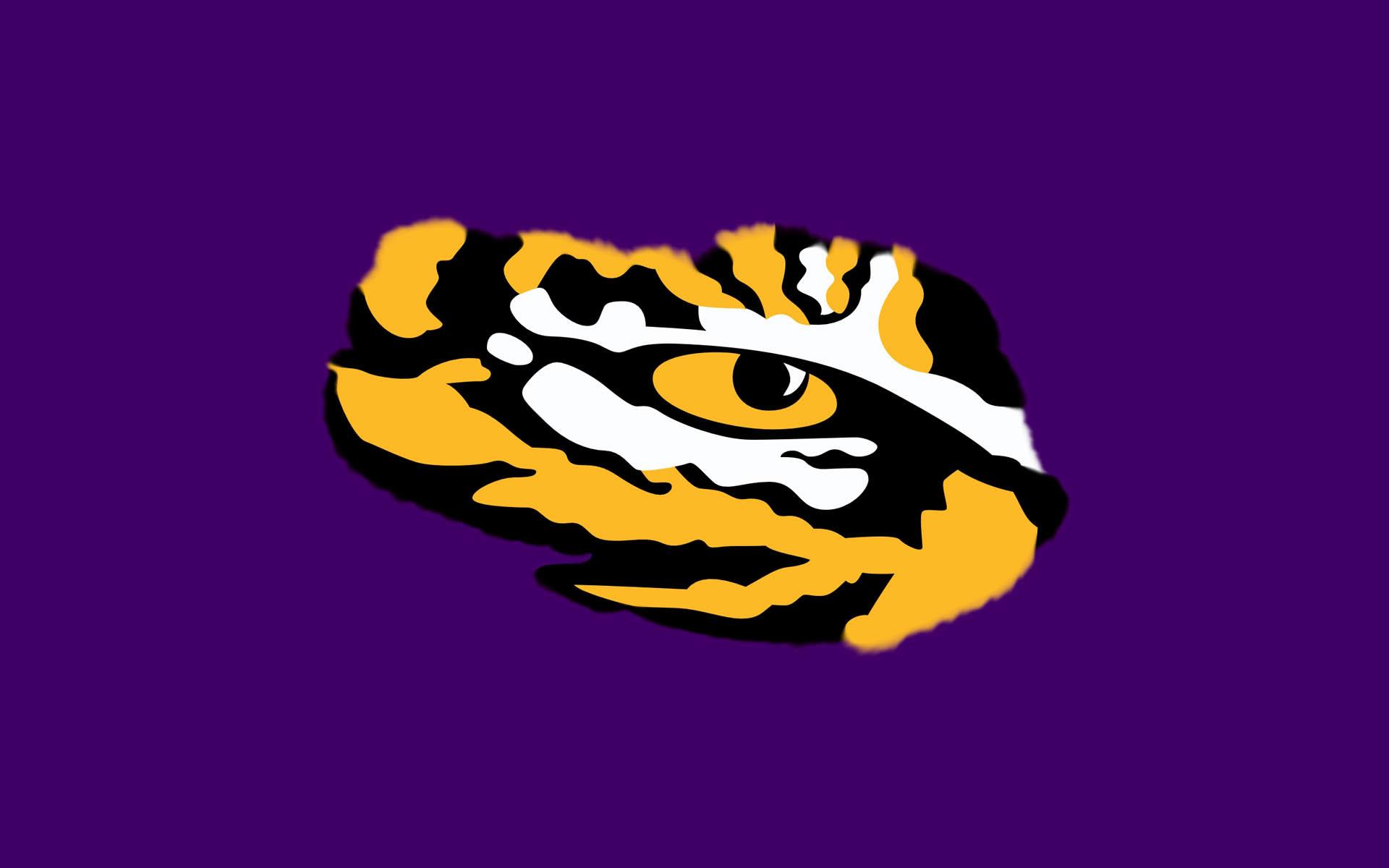 LSU Tiger Eye Sports Team Logo Wallpaper for ipad | cute Wallpapers