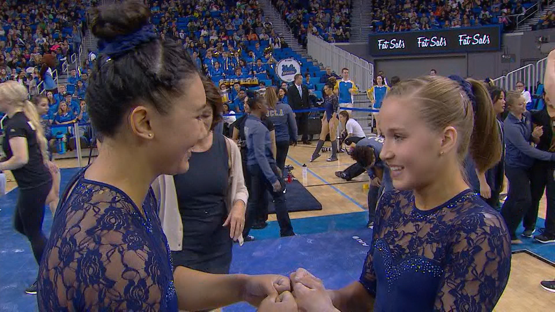 Feature: Olympians Madison Kocian and Kyla Ross shine in UCLA gymnastics  debuts | Pac-12