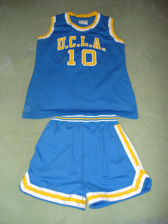 Vintage UCLA Bruins Women's Basketball Jersey & Uniform