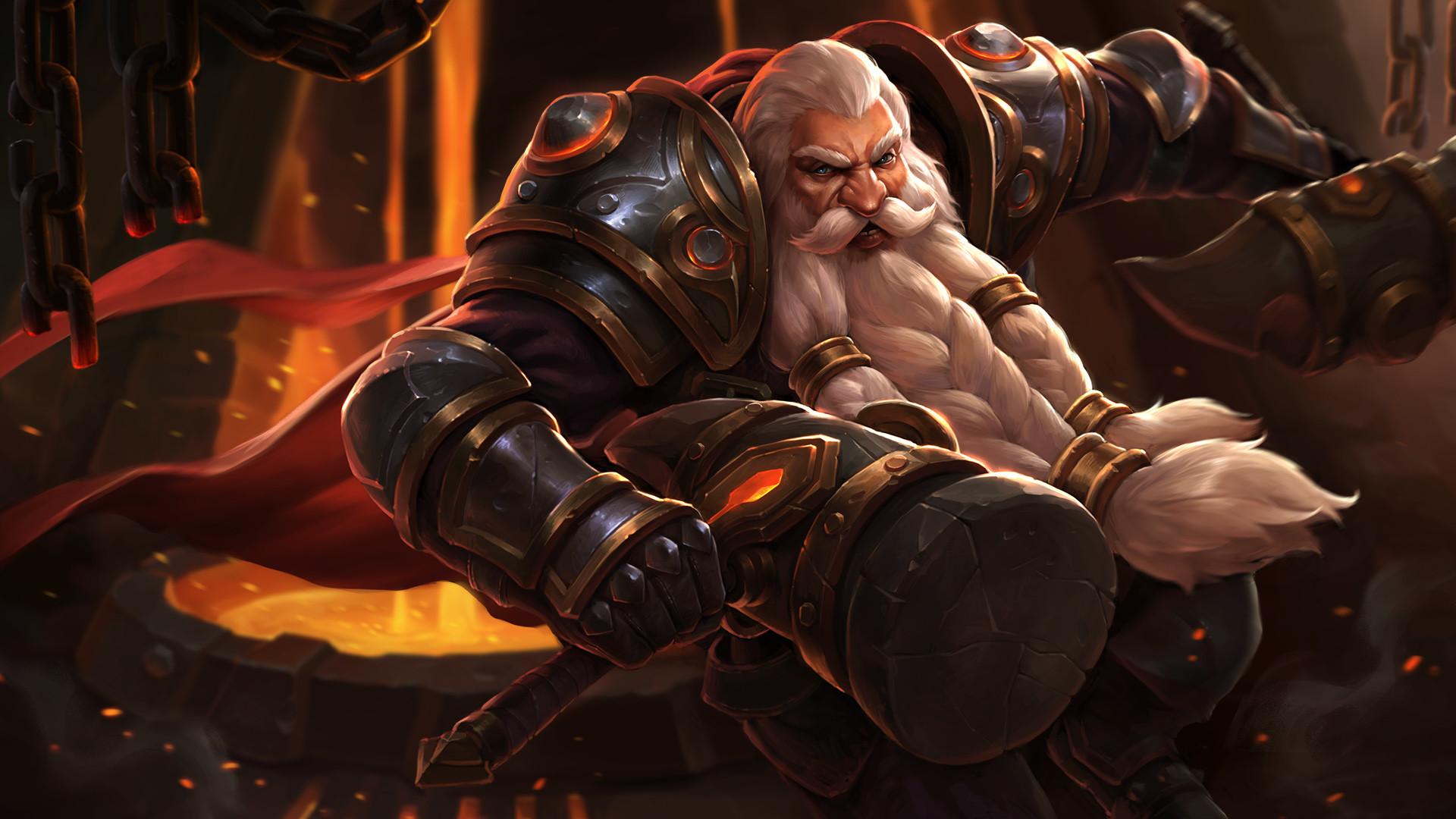 Dwarf Lord Blacksmith_Wallpaper