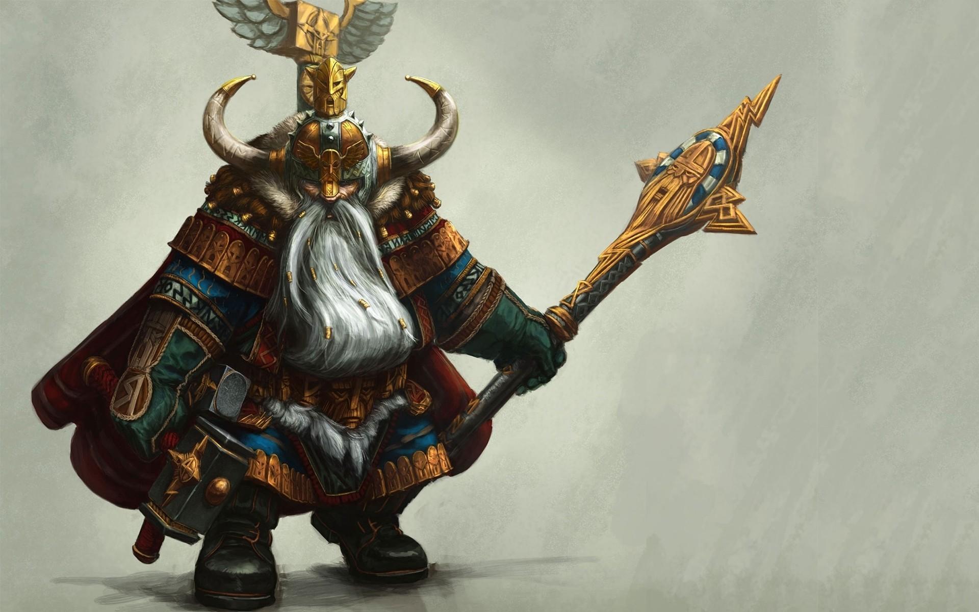 Fantasy – Dwarf Wallpaper