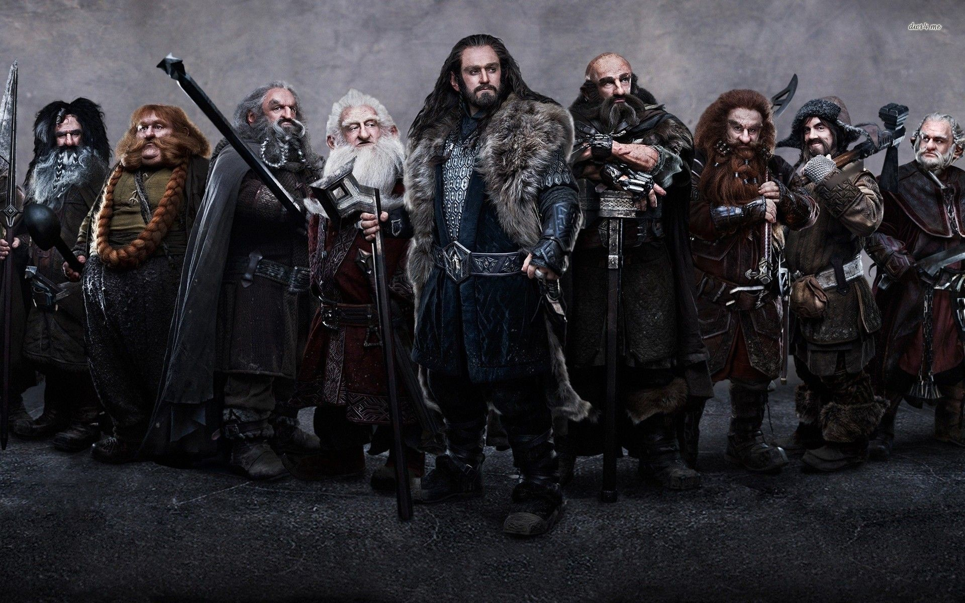 The Hobbit dwarves – The Lord of the Rings wallpaper – Movie .