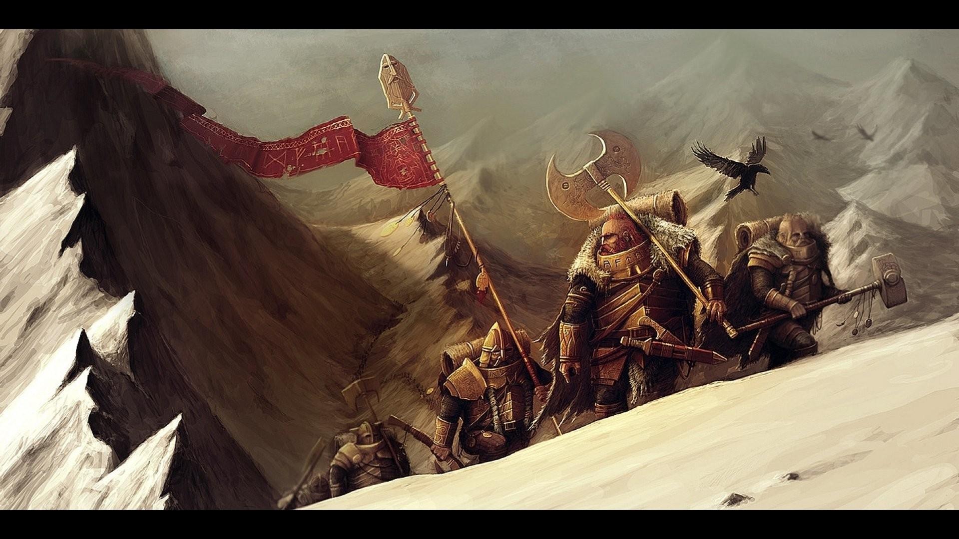 DWARF fantasy warrior art artwork f wallpaper | | 697513 |  WallpaperUP