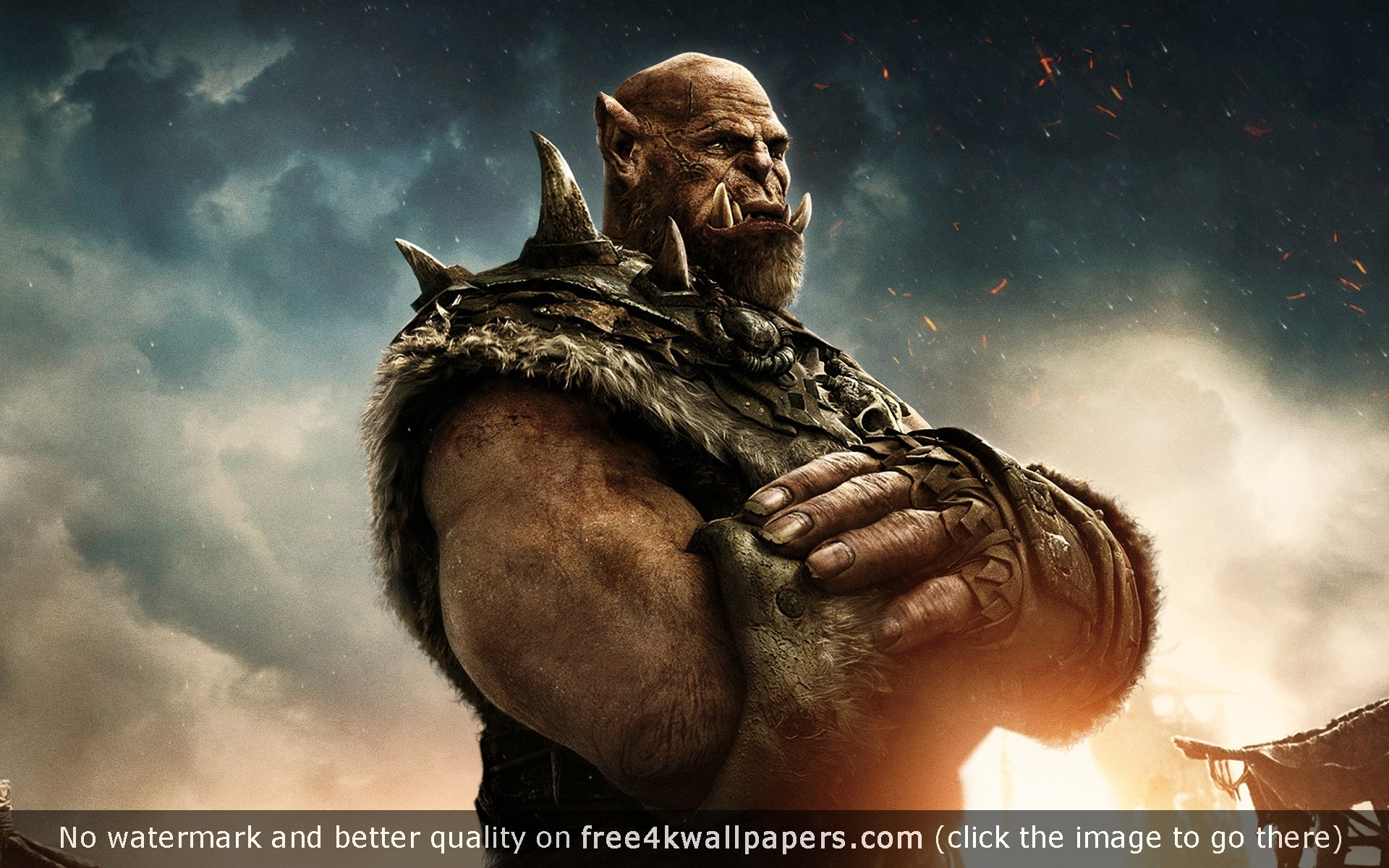 Orgrim Warcraft Movie wallpaper