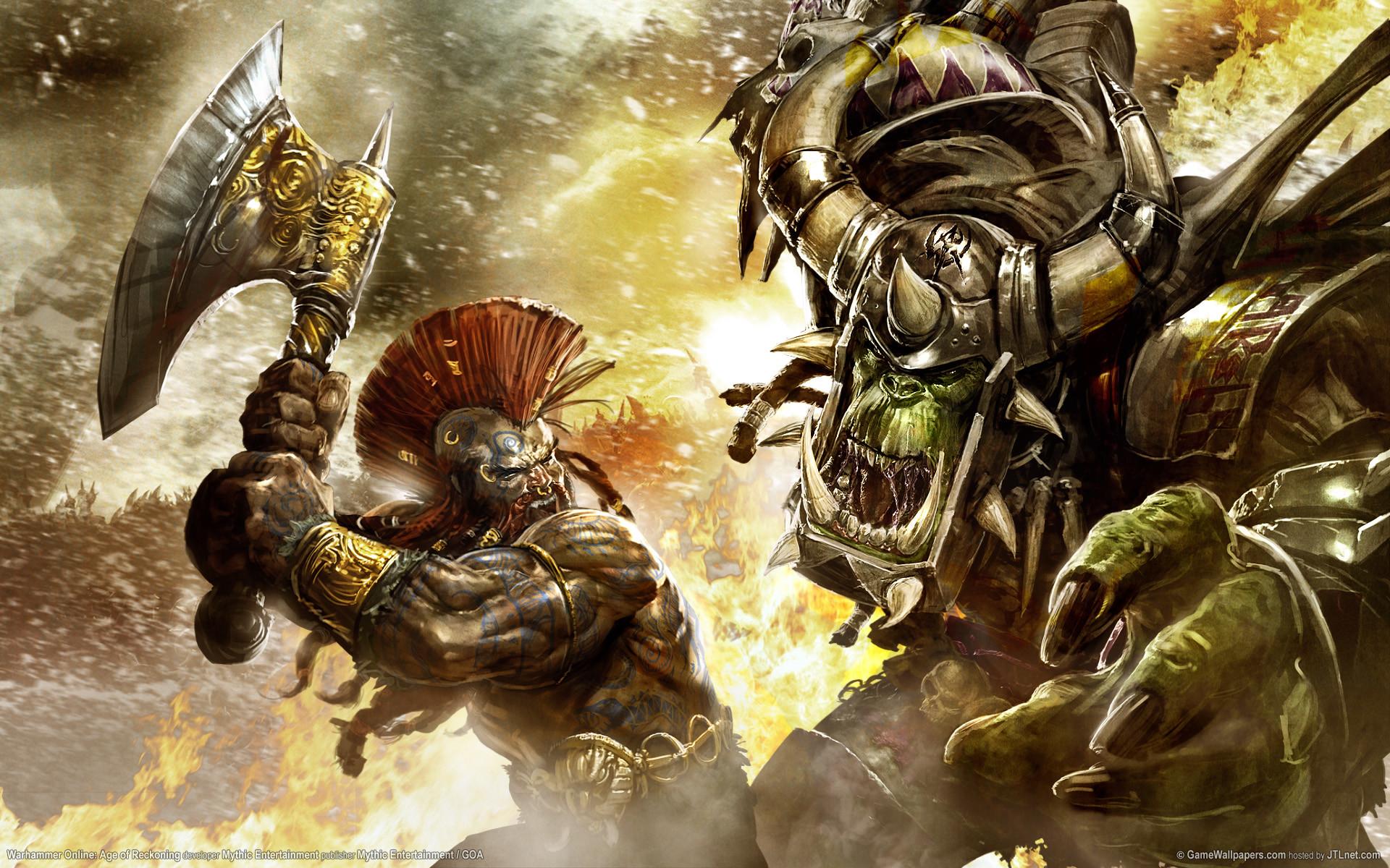 Free video game warhammer wallpaper background