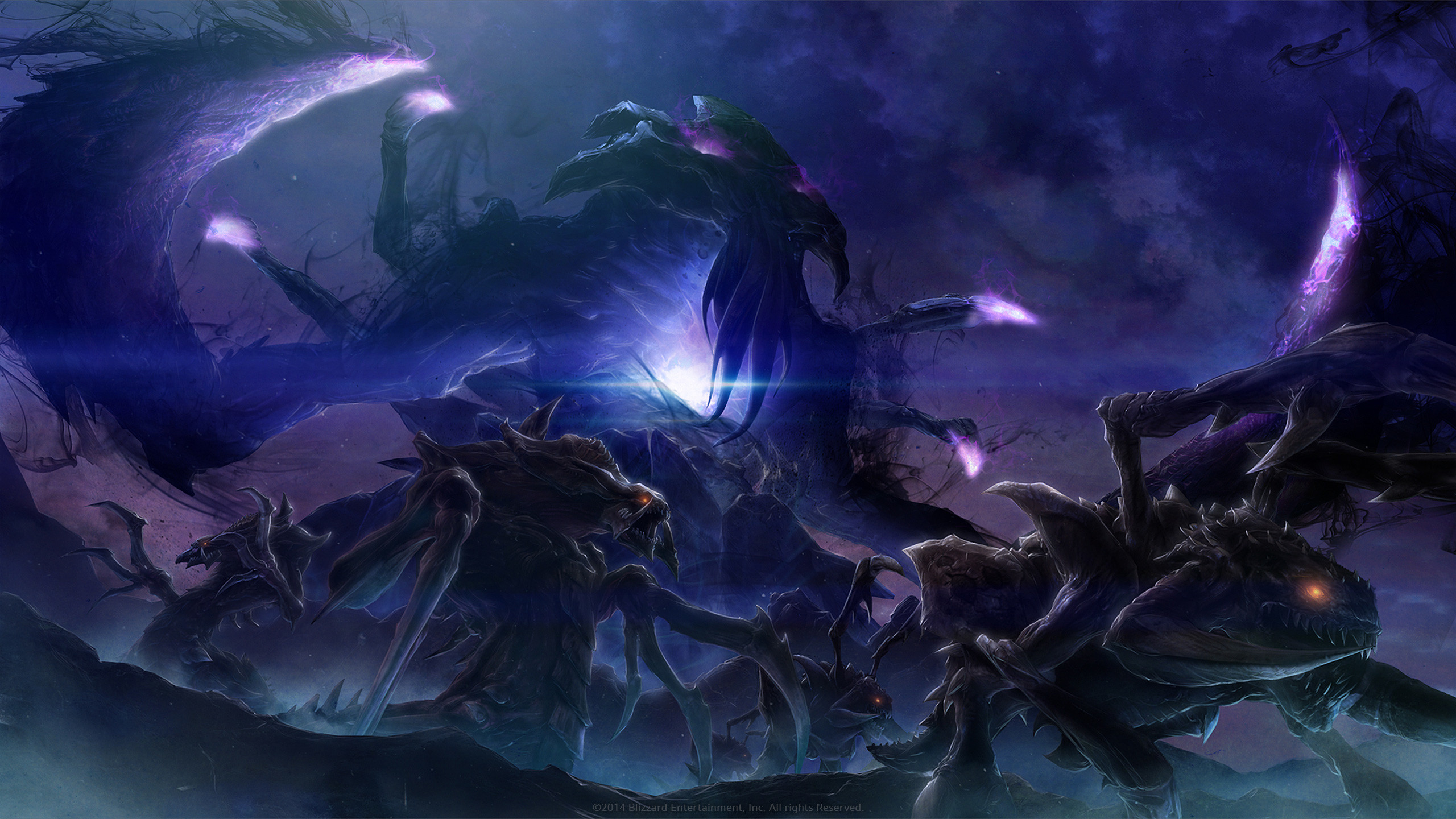 StarCraft 2: Legacy of the Void Wallpaper 2560×1440