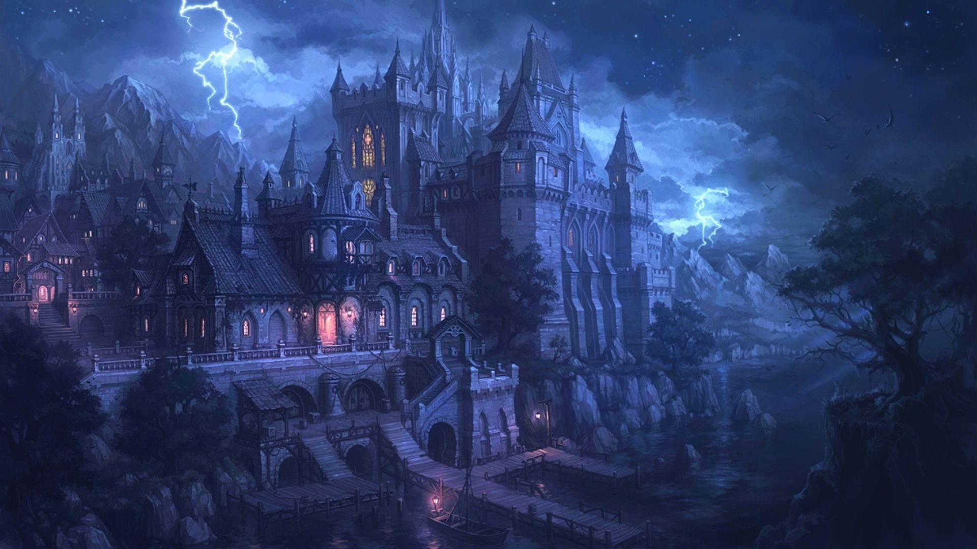 artwork, Fantasy Art, Spooky, Gothic Wallpapers HD / Desktop and Mobile  Backgrounds