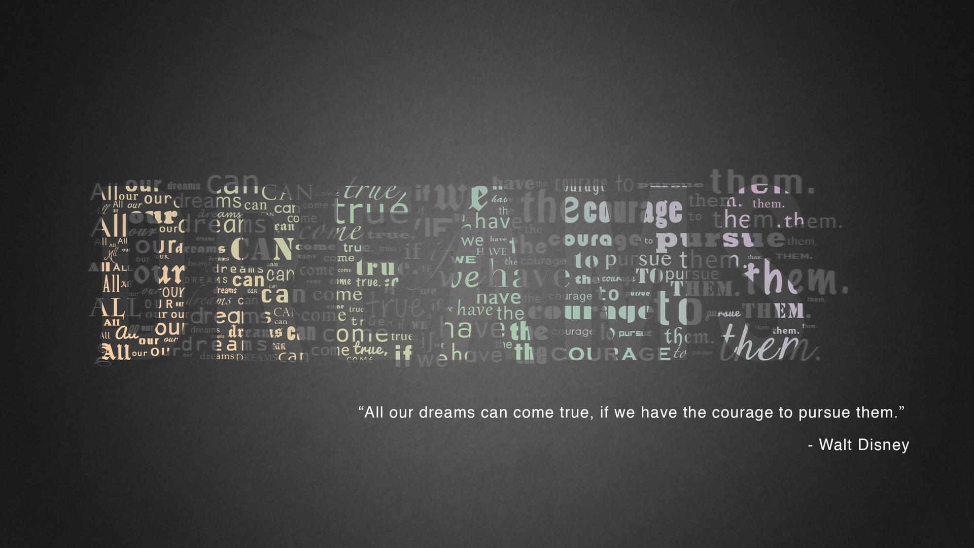 Walt Disney quote Wallpaper #9802
