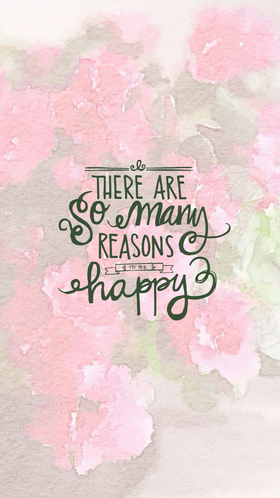 There are so many reason to be happy. iPhone Wallpapers Quotes about  happiness and life. Be Happy!