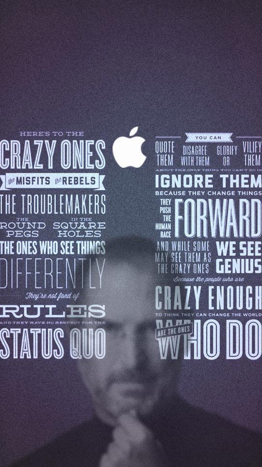 Steve quotes HD Wallpaper iPhone 6 plus – wallpapersmobile.net
