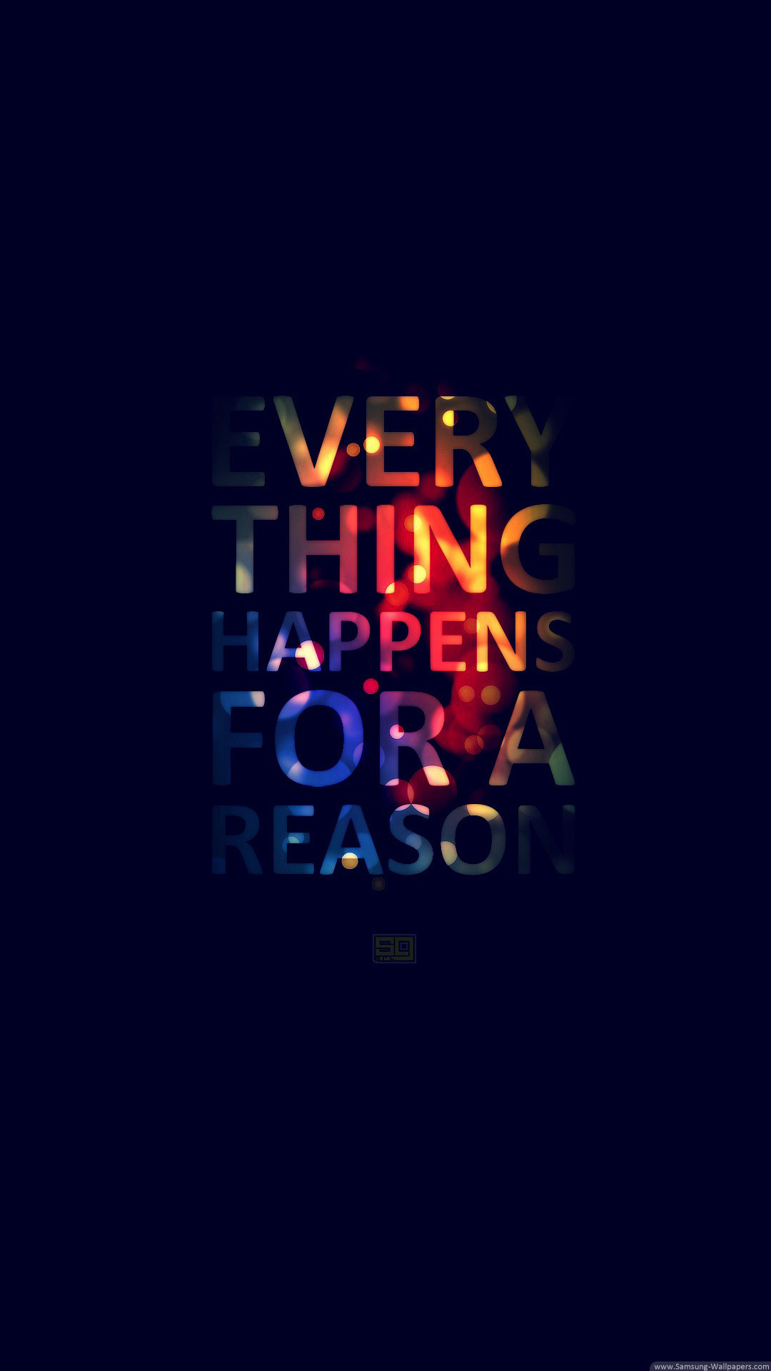 Everything Happens For A Reason iPhone 6 Plus HD Wallpaper …