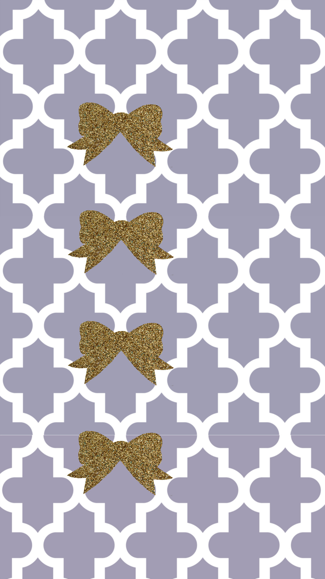 Plum gray and gold glitter bow preppy free tech wallpaper