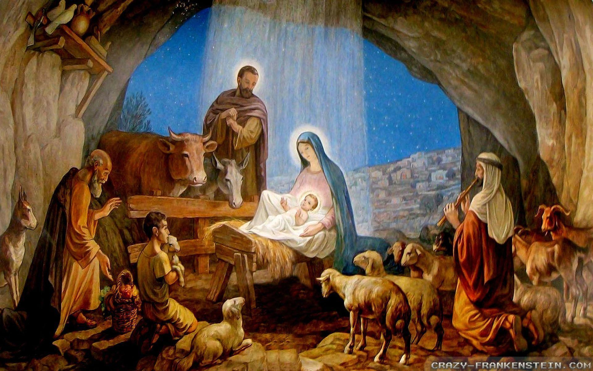 Merry Christmas Jesus Wallpaper – ToObjects.