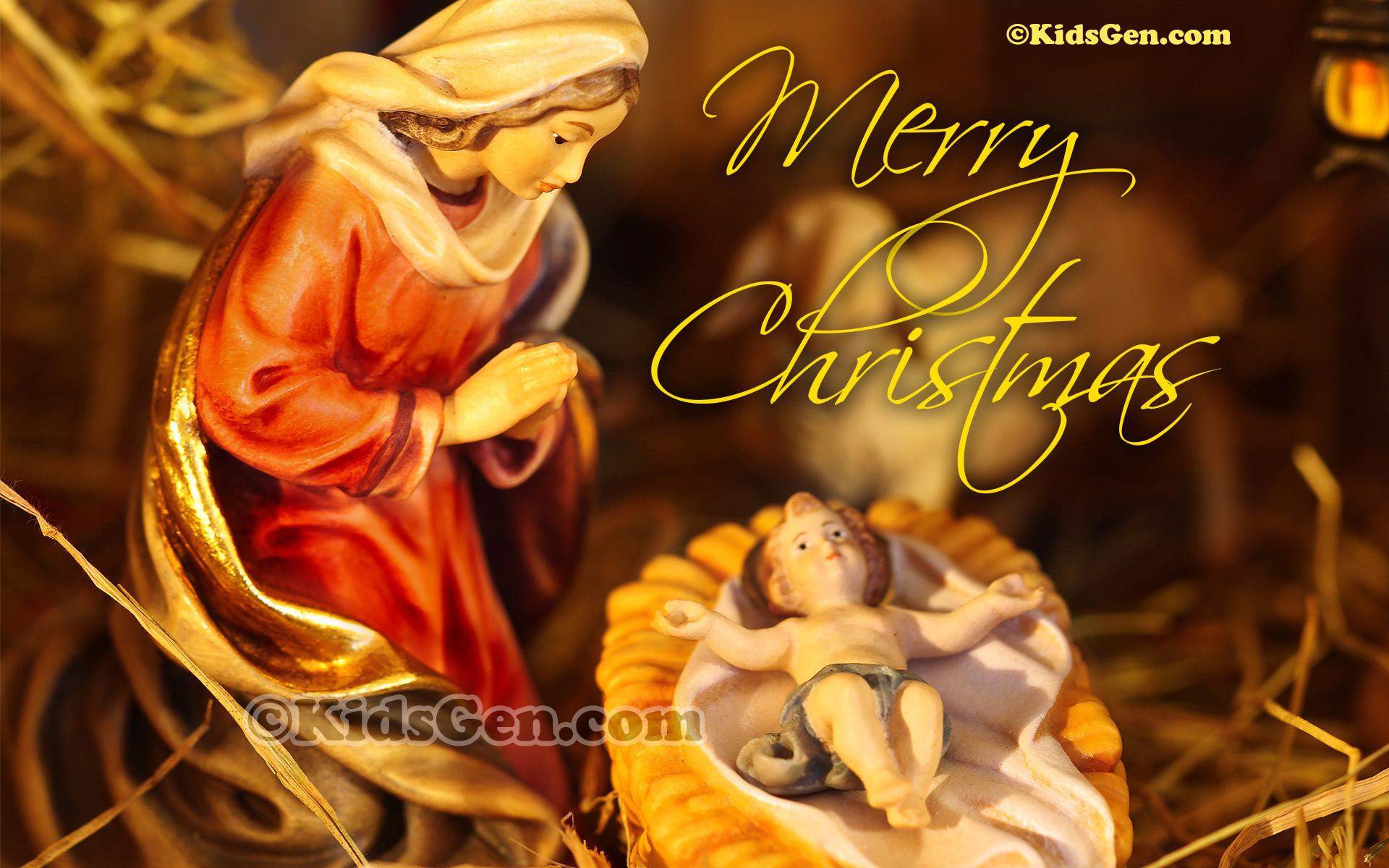 Baby Jesus Merry Christmas Mary and baby jesus!