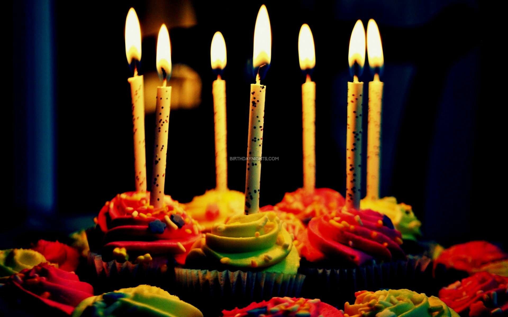 Happy birthday cake pictures with Candle wallpapers