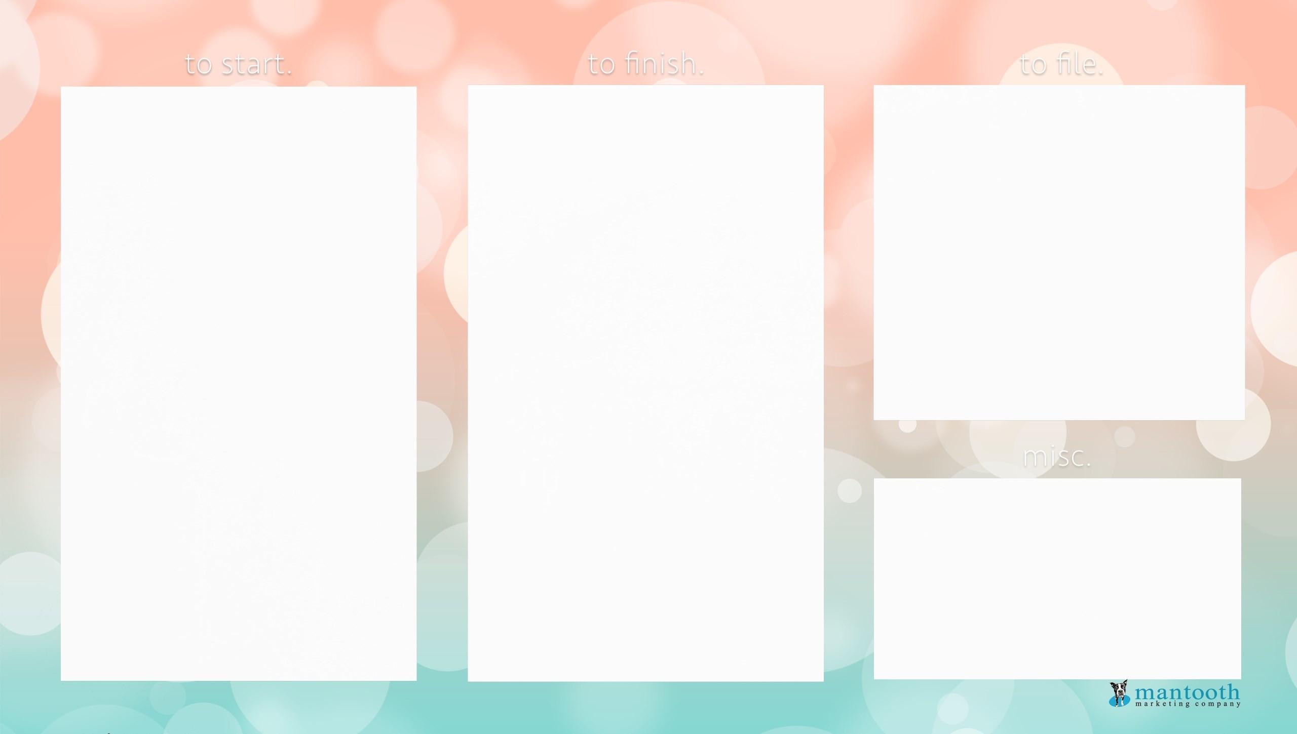 desktop organizer wallpapers