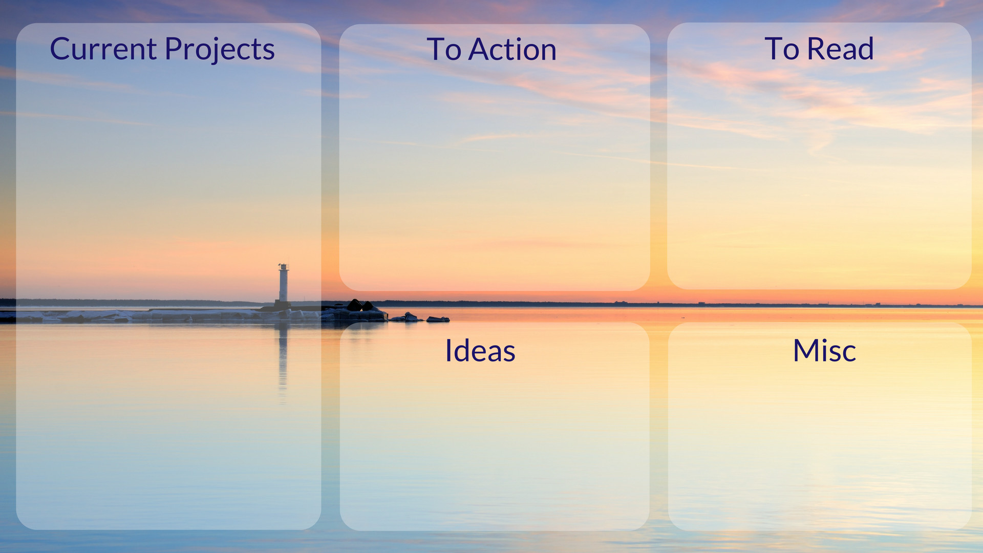 Organiser Background 1. desktop organisation background 1
