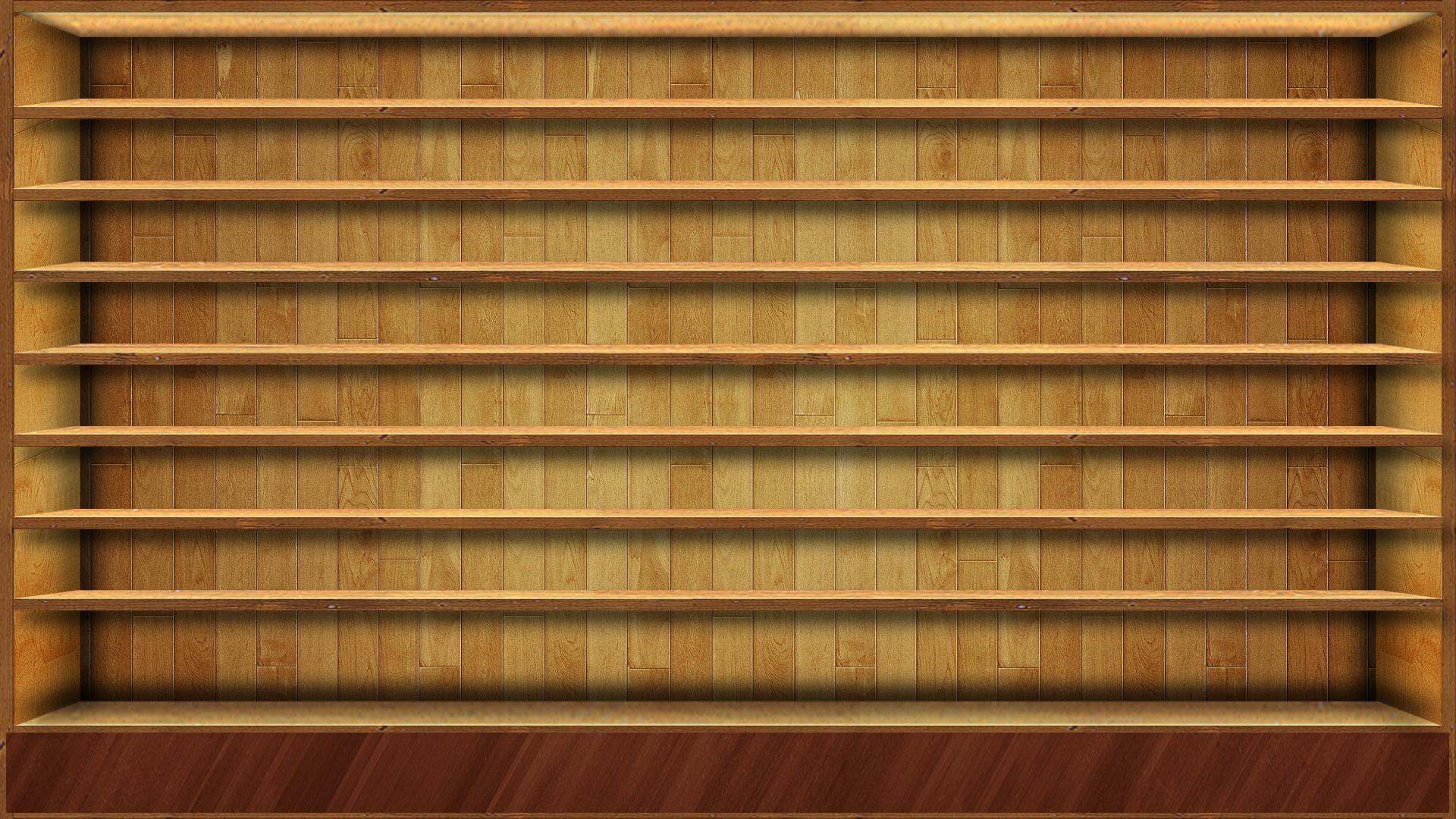 Wood Shelves HD Wallpaper #1456 Wallpaper computer | best website .