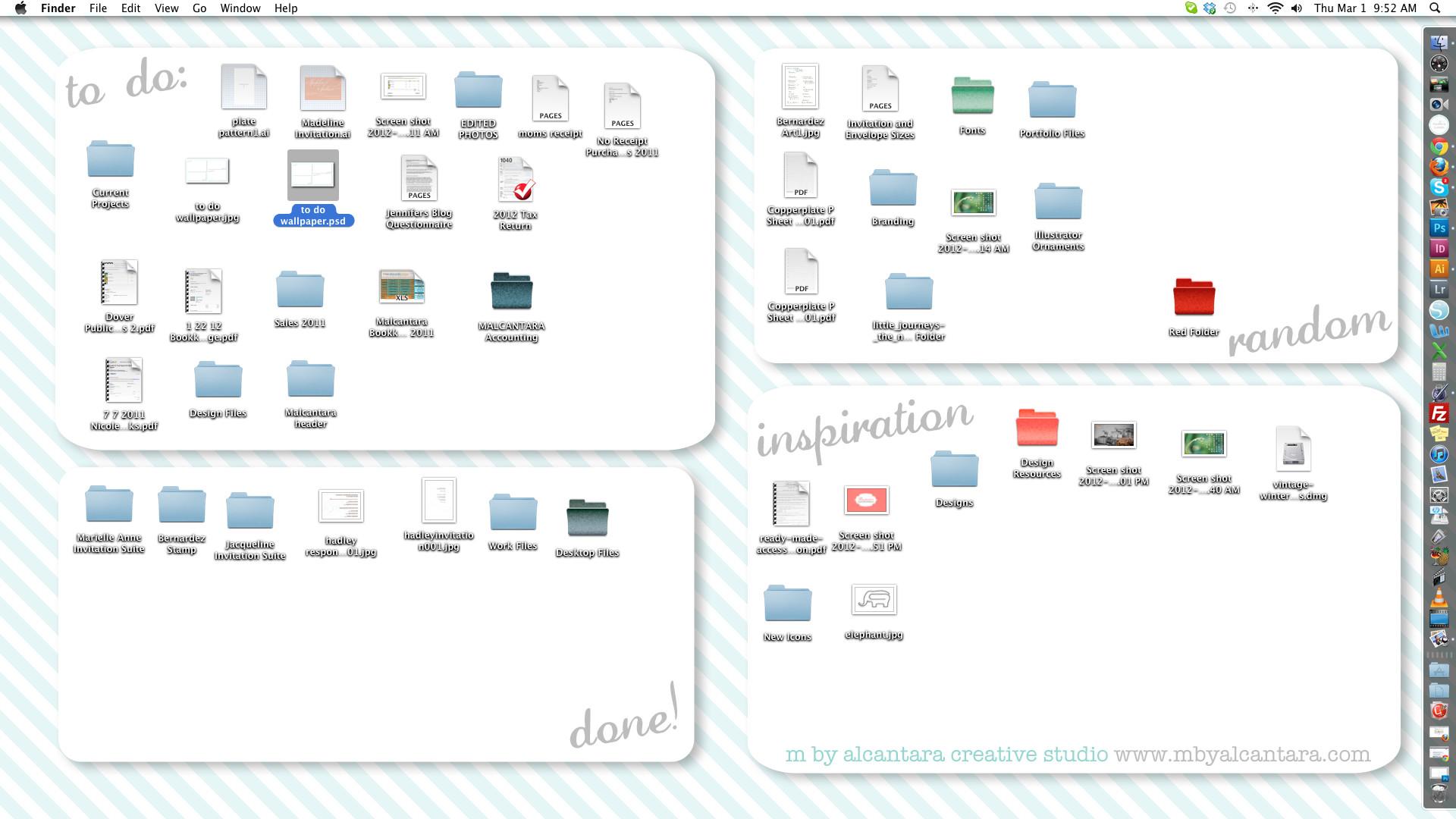 Organized Desktop Wallpaper Free Download