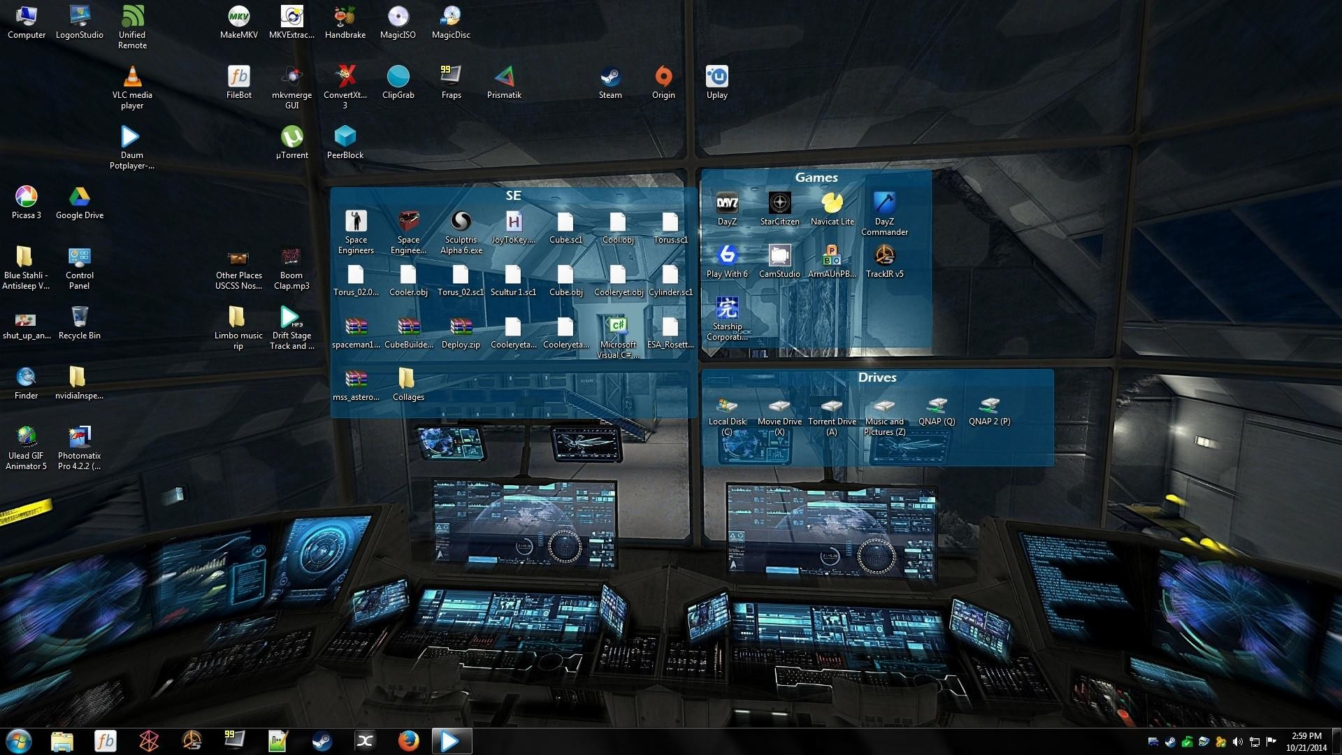 Custom Desktop Organizer Slideshow Tutorial Adventures of a 1920×1080
