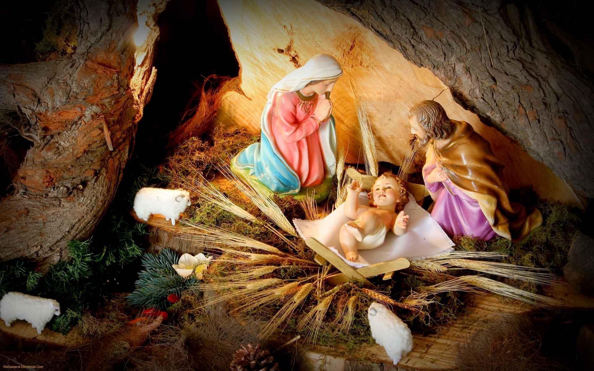 Pix For > Nativity Scenes Wallpaper