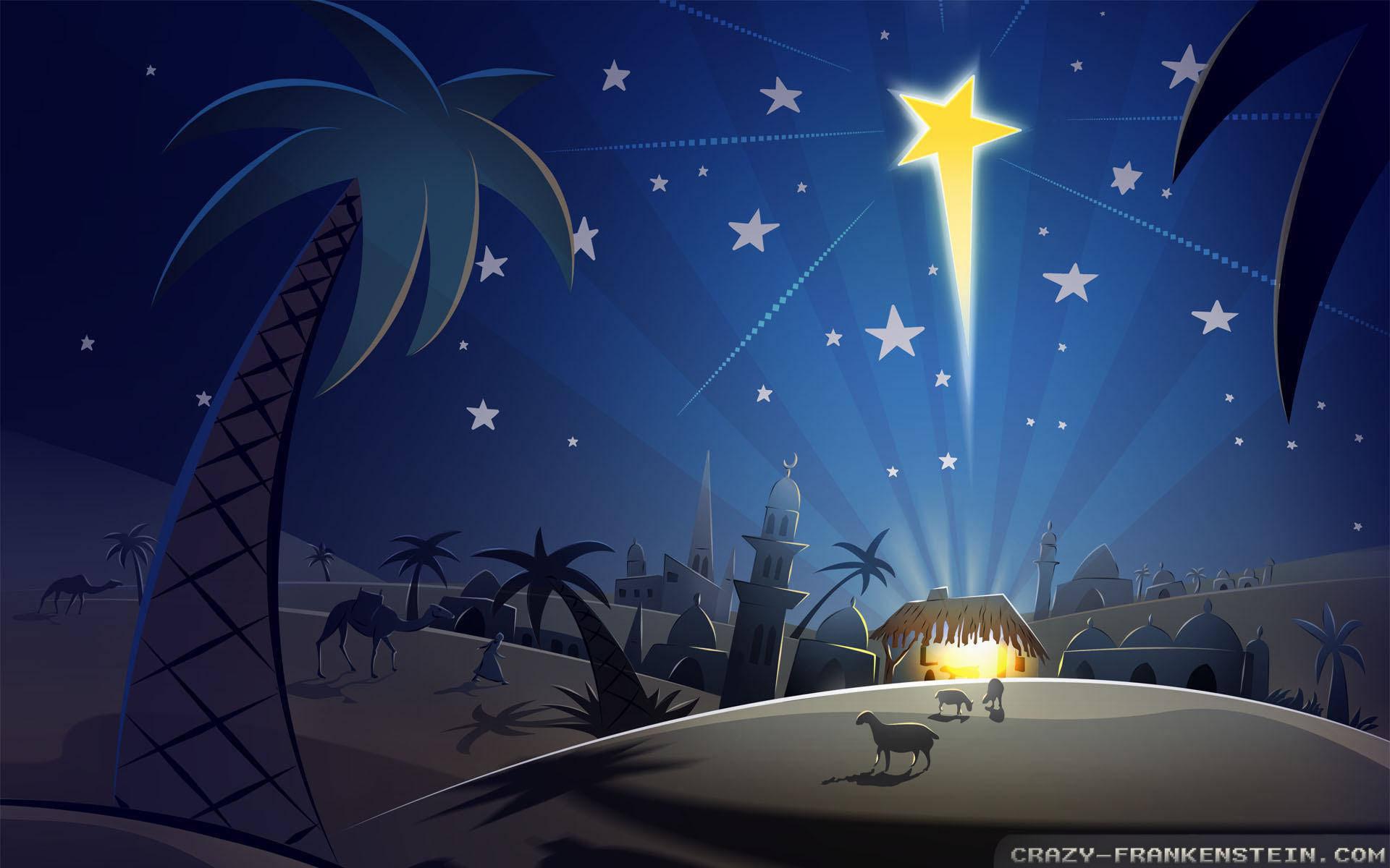 Wallpaper: Nativity Christmas star wallpapers. Resolution: 1024×768 |  1280×1024 | 1600×1200. Widescreen Res: 1440×900 | 1680×1050 | 1920×1200