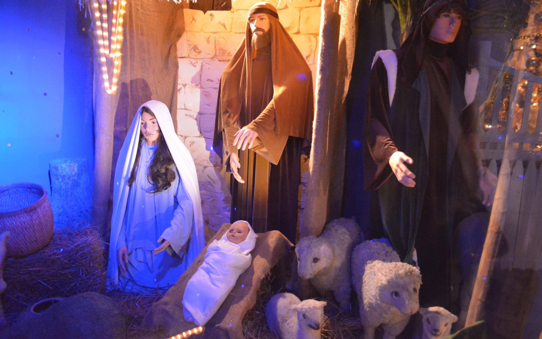 4K HD Wallpaper: Nativity Scene