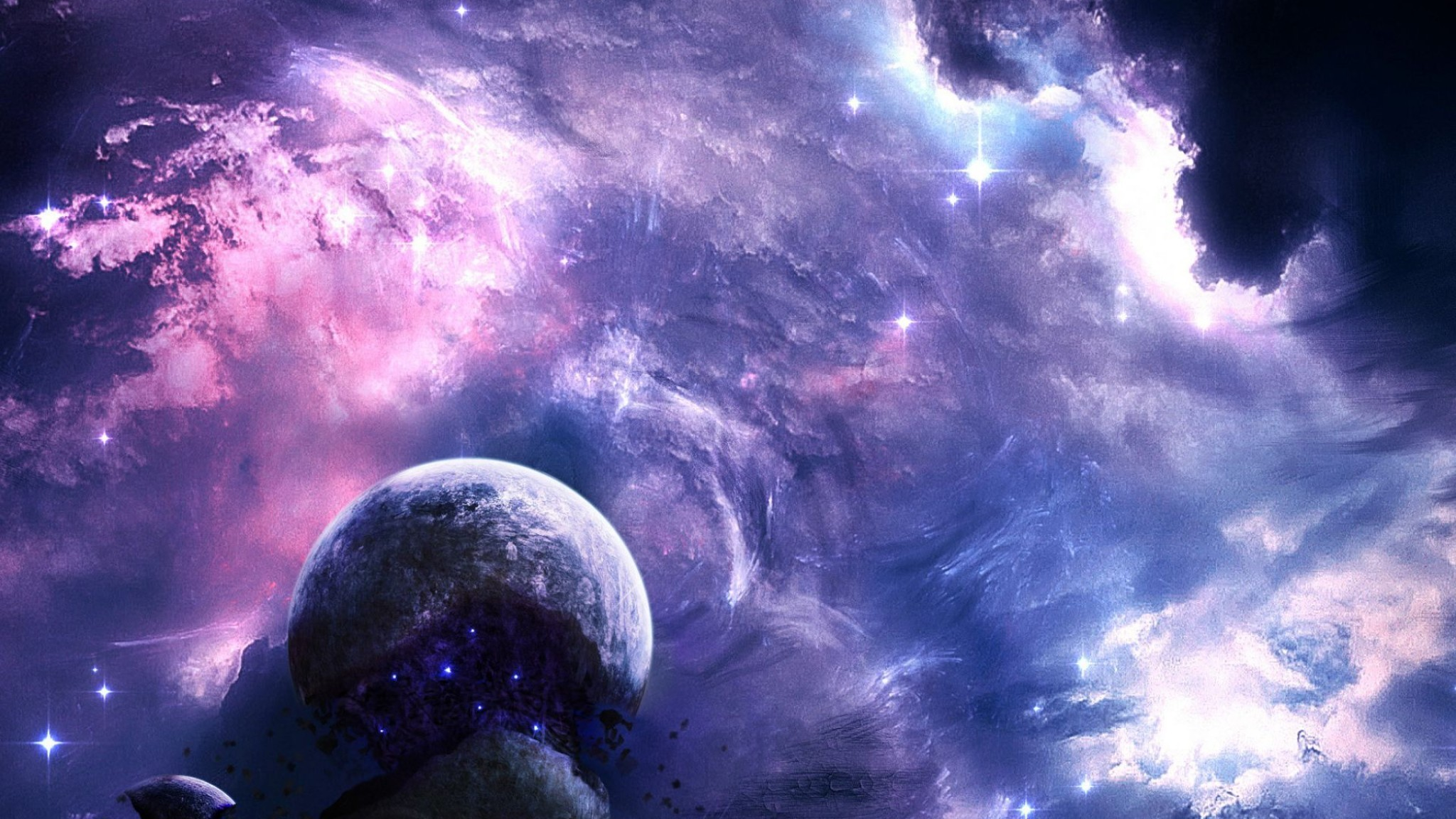 Wallpaper Galaxy Must be completed in 1 day