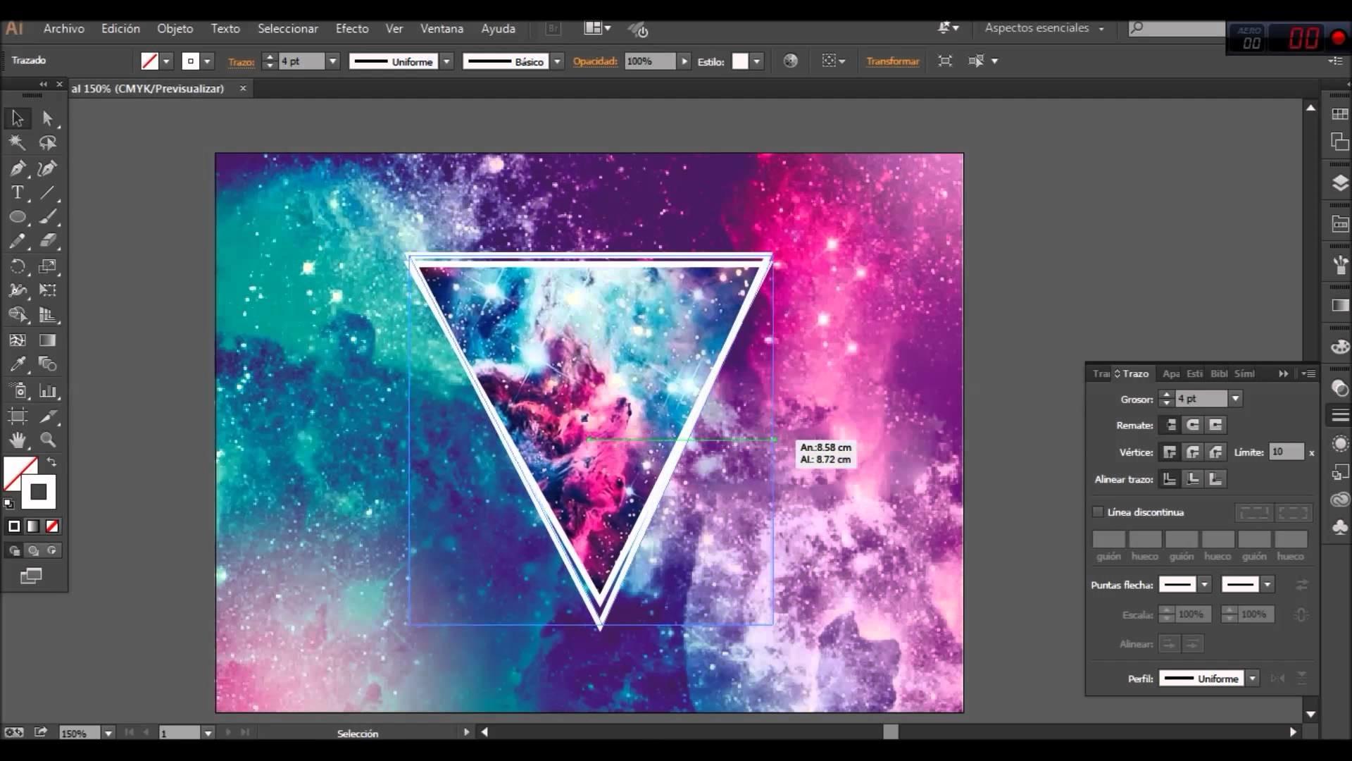 Como hacer Wallpaper HD Facil Tipo Hipster (Wallpaper Julz CC2015) – YouTube