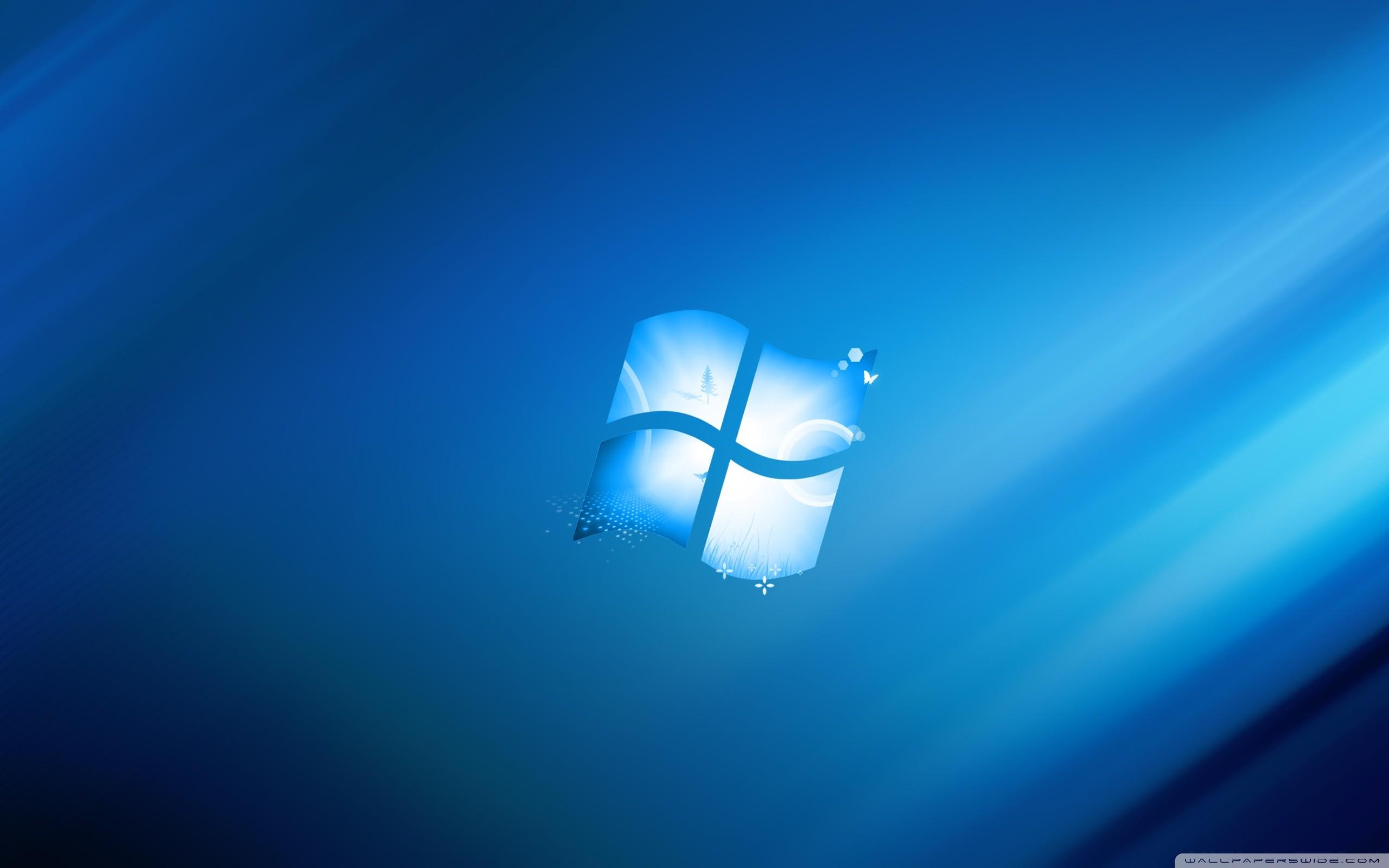 Blue HD Desktop Wallpaper