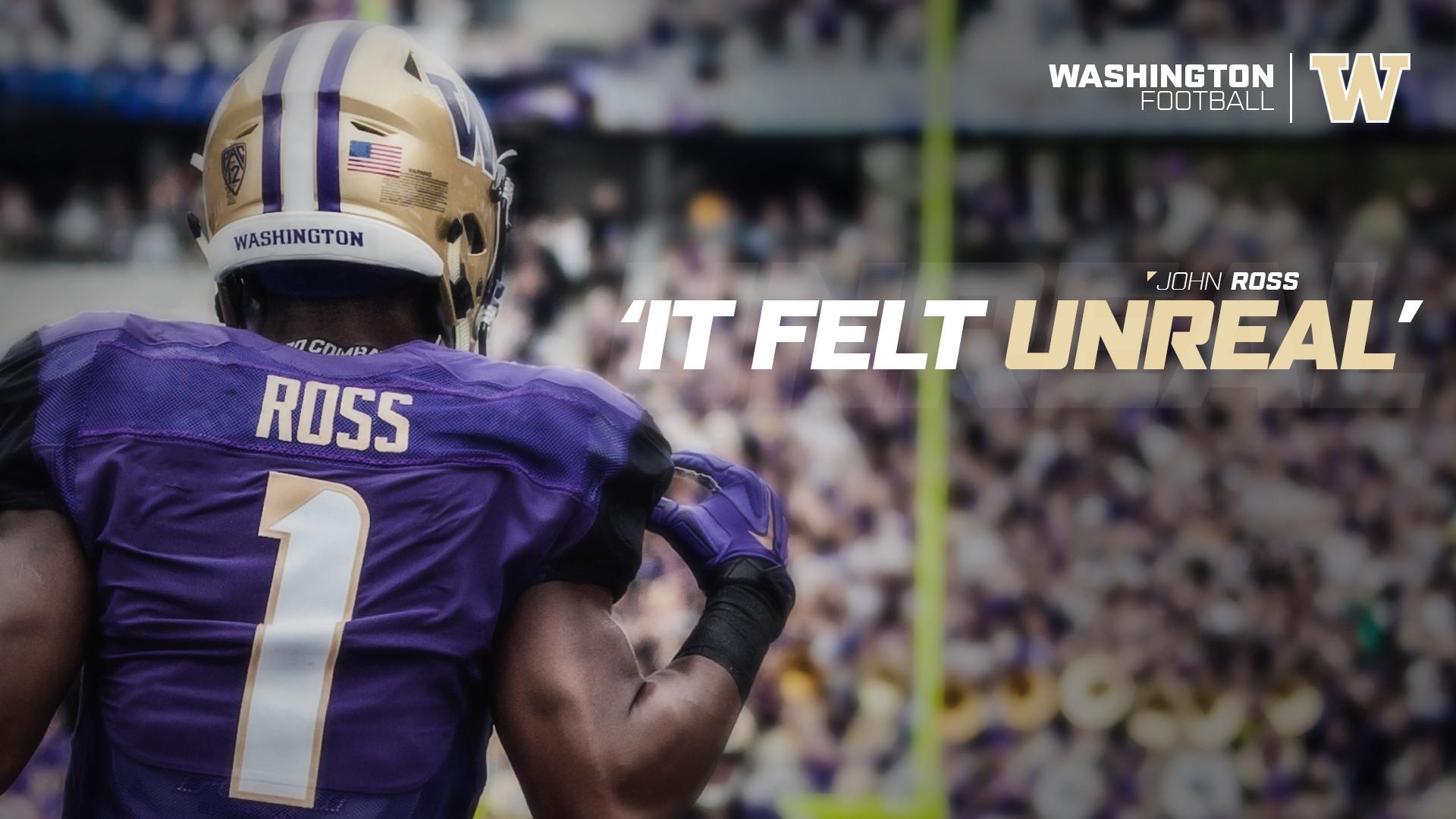 Ross On Three TDs In His Return: 'It Felt Unreal'